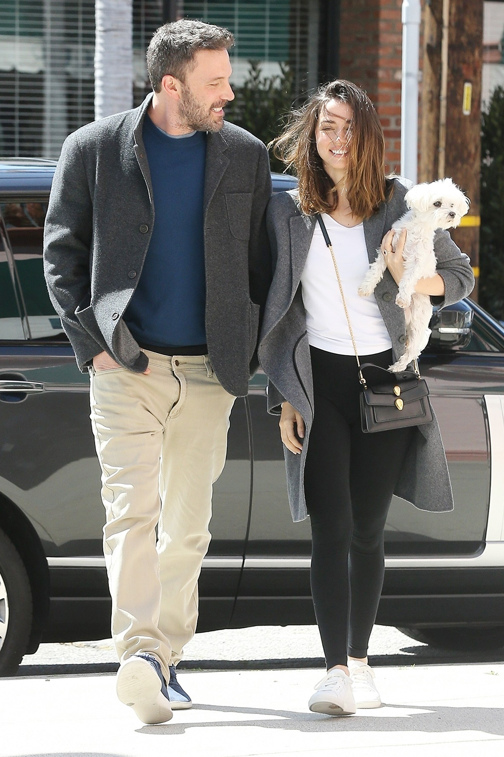 New couple Ben Affleck and Ana de Armas look happy while on a coffee run