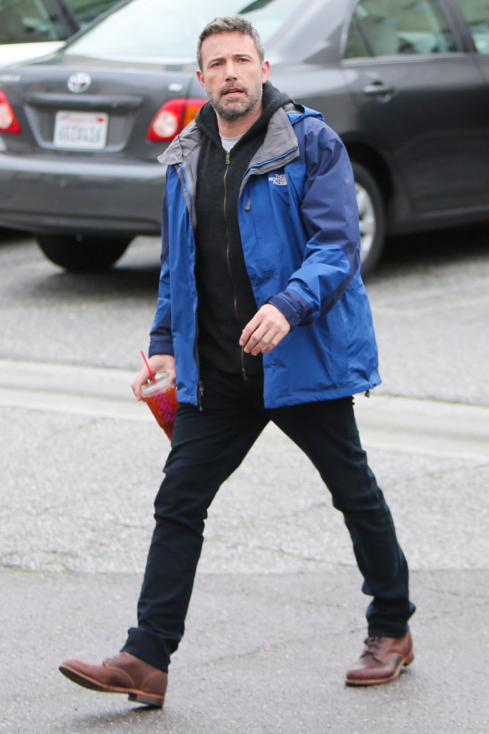 Ben Affleck is seen on March 14, 2020 in Los Angeles, California