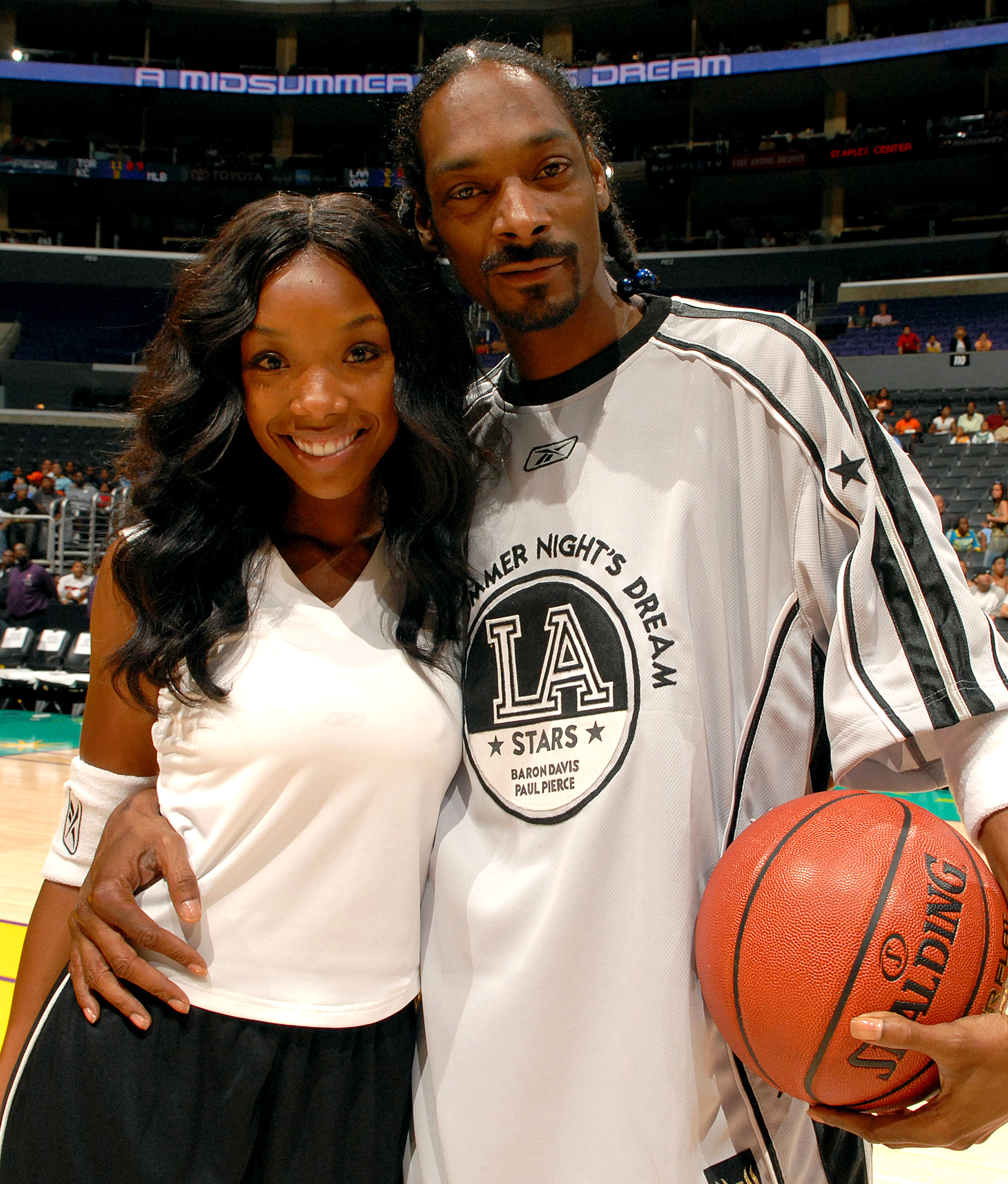 A Midsummer Night's Dream: Celebrity Basketball Game - Pregame - July 9, 2006