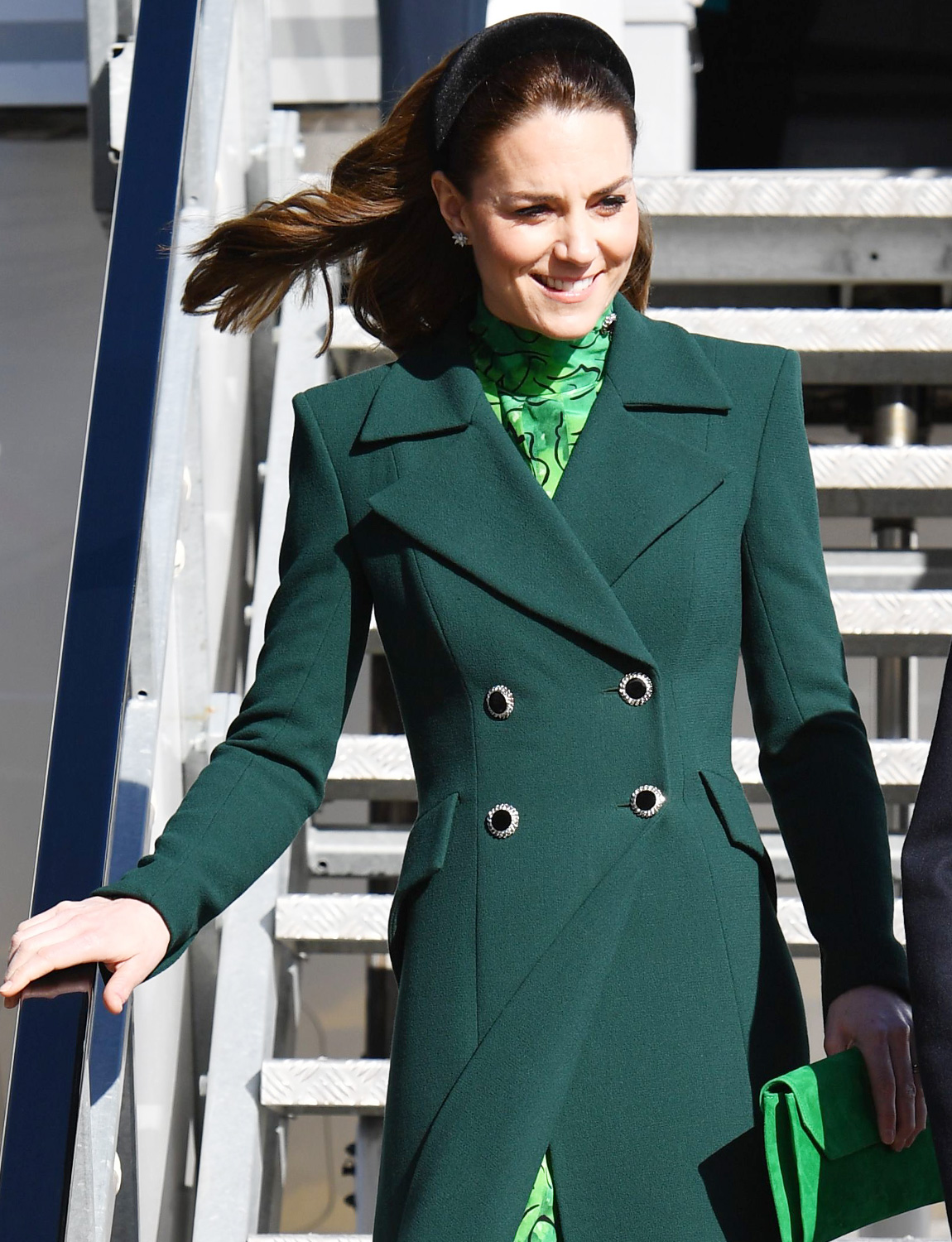 Catherine Duchess of Cambridge and Prince William arrive at Dublin International Airport Prince William and Catherine Duchess of Cambridge visit to Ireland - 03 Mar 2020