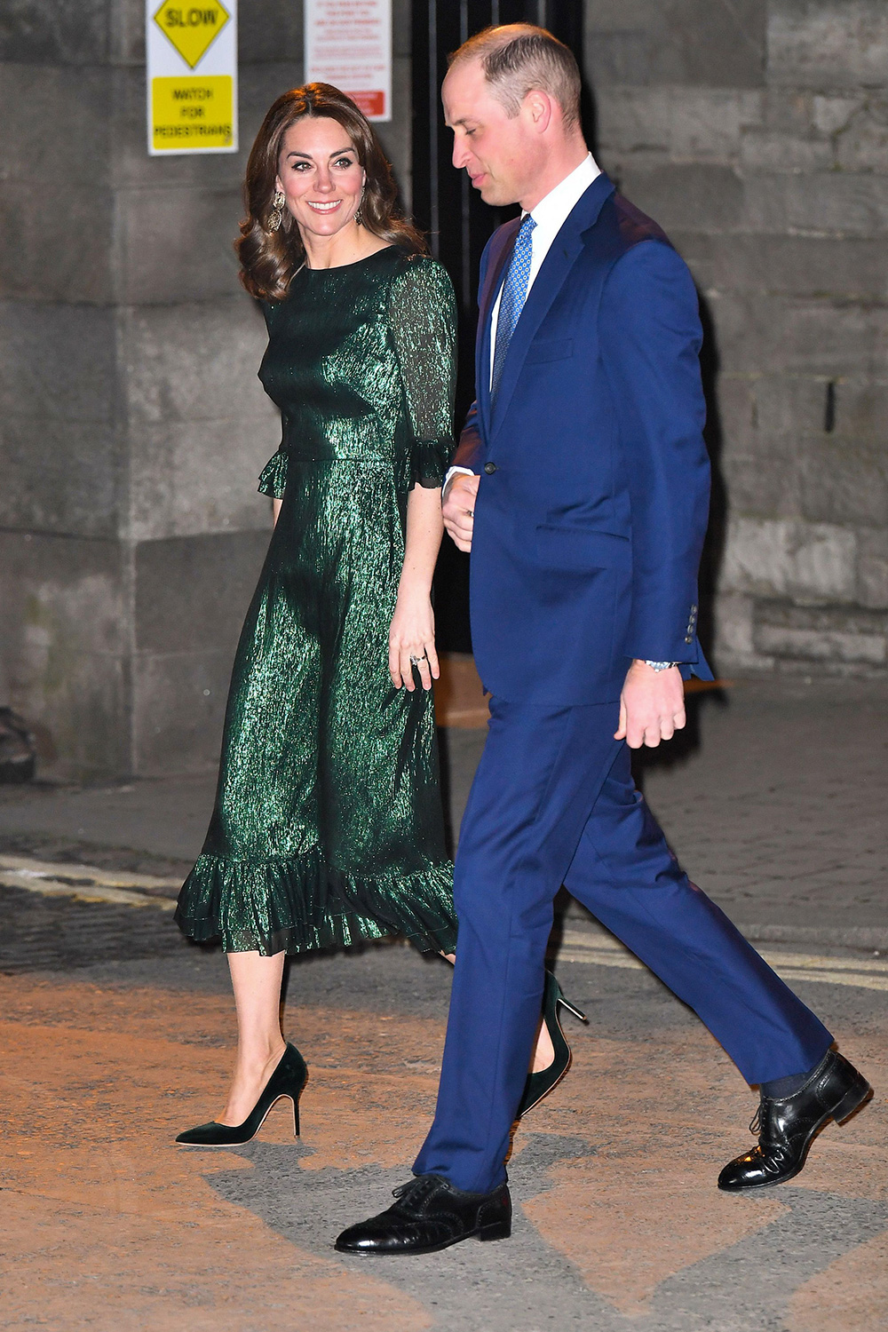 William, Duke of Cambridge and Catherine, Duchess of Cambridge attend a special reception hosted by the British Ambassador to Ireland at Storehouse's Gravity Bar on March 03, 2020 in Dublin, Ireland. The Duke and Duchess of Cambridge are undertaking an official visit to Ireland between Tuesday 3rd March and Thursday 5th March, at the request of the Foreign and Commonwealth Office