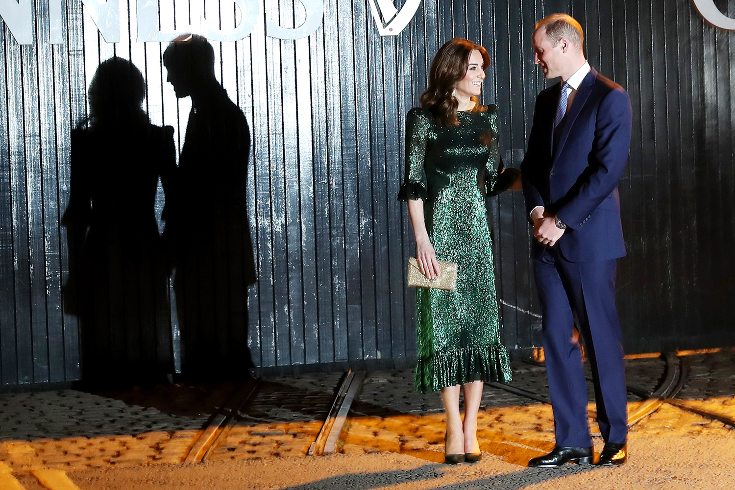 Catherine, Duchess of Cambridge and Prince William, Duke of Cambridge attend a reception hosted by the British Ambassador to Ireland Robin Barnett at the Guinness Storehouse's Gravity Bar during day one of their visit to Ireland on March 03, 2020 in Dublin, Ireland