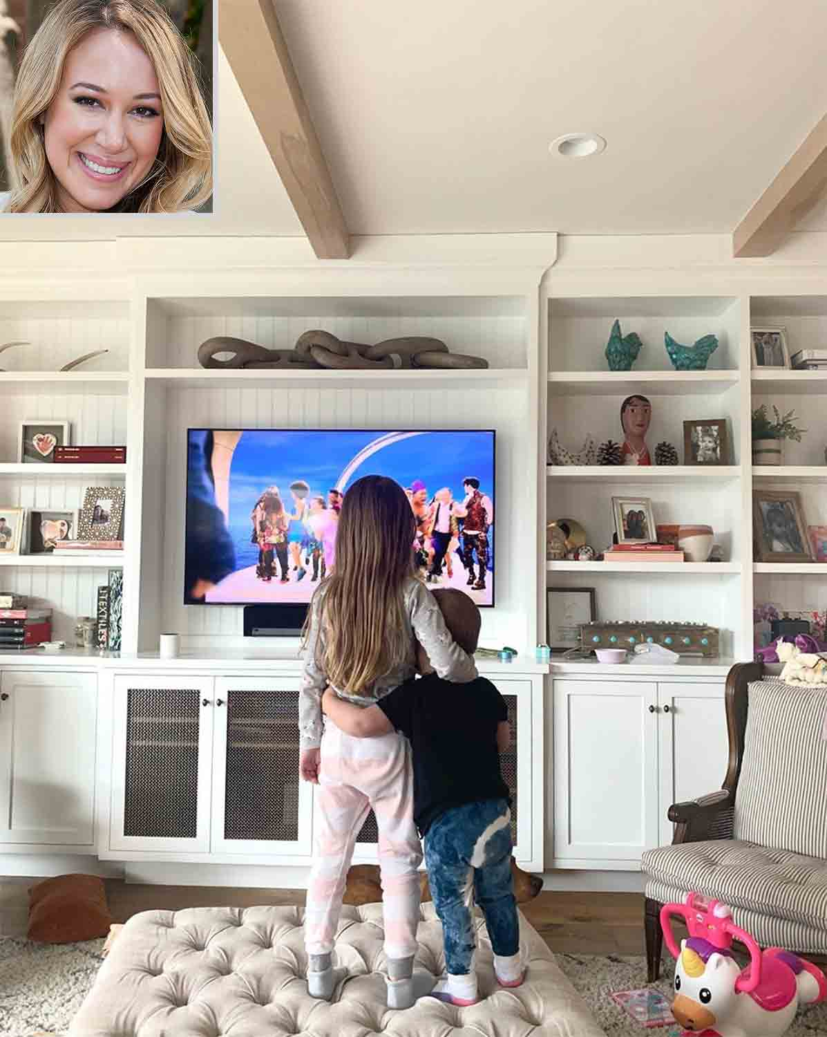 celebs at home Haylie Duff