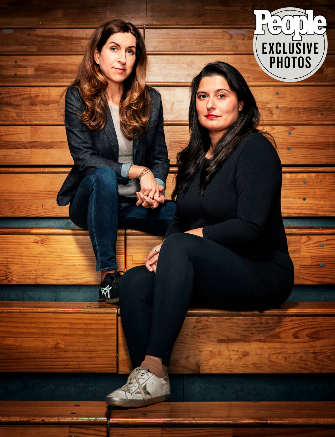 Sharmeen Obaid Chinoy and Trish Dalton