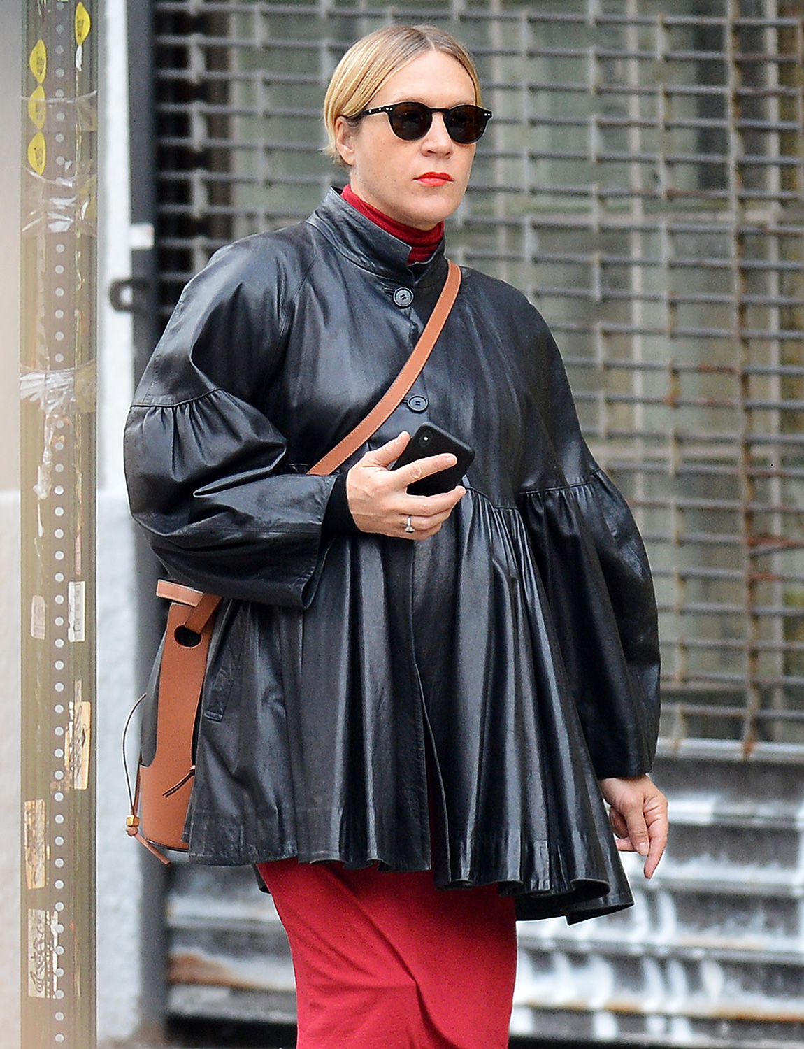 Chloe Sevigny is spotted out on a stroll in New York City