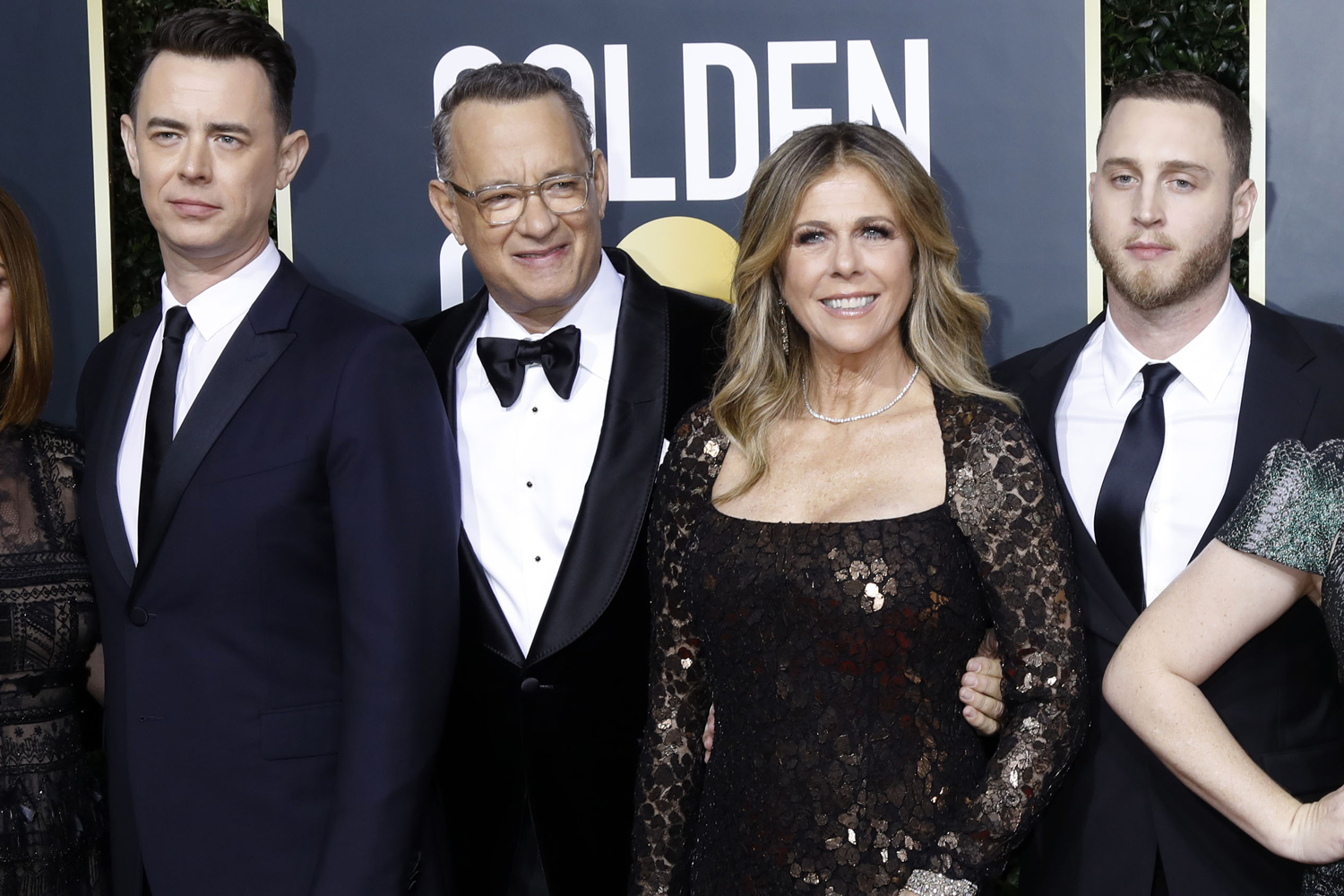 Colin Hanks, Rita Wilson, Tom Hanks, Chet Hanks
