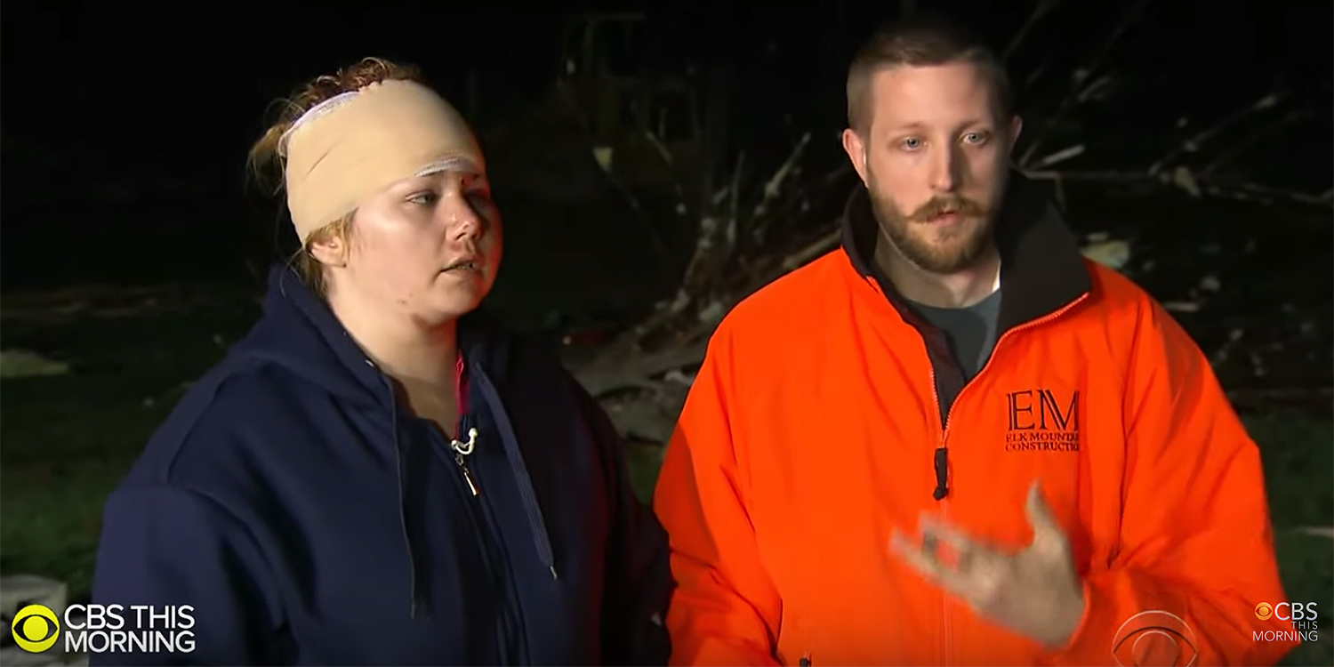 Tennessee couple survives tornado