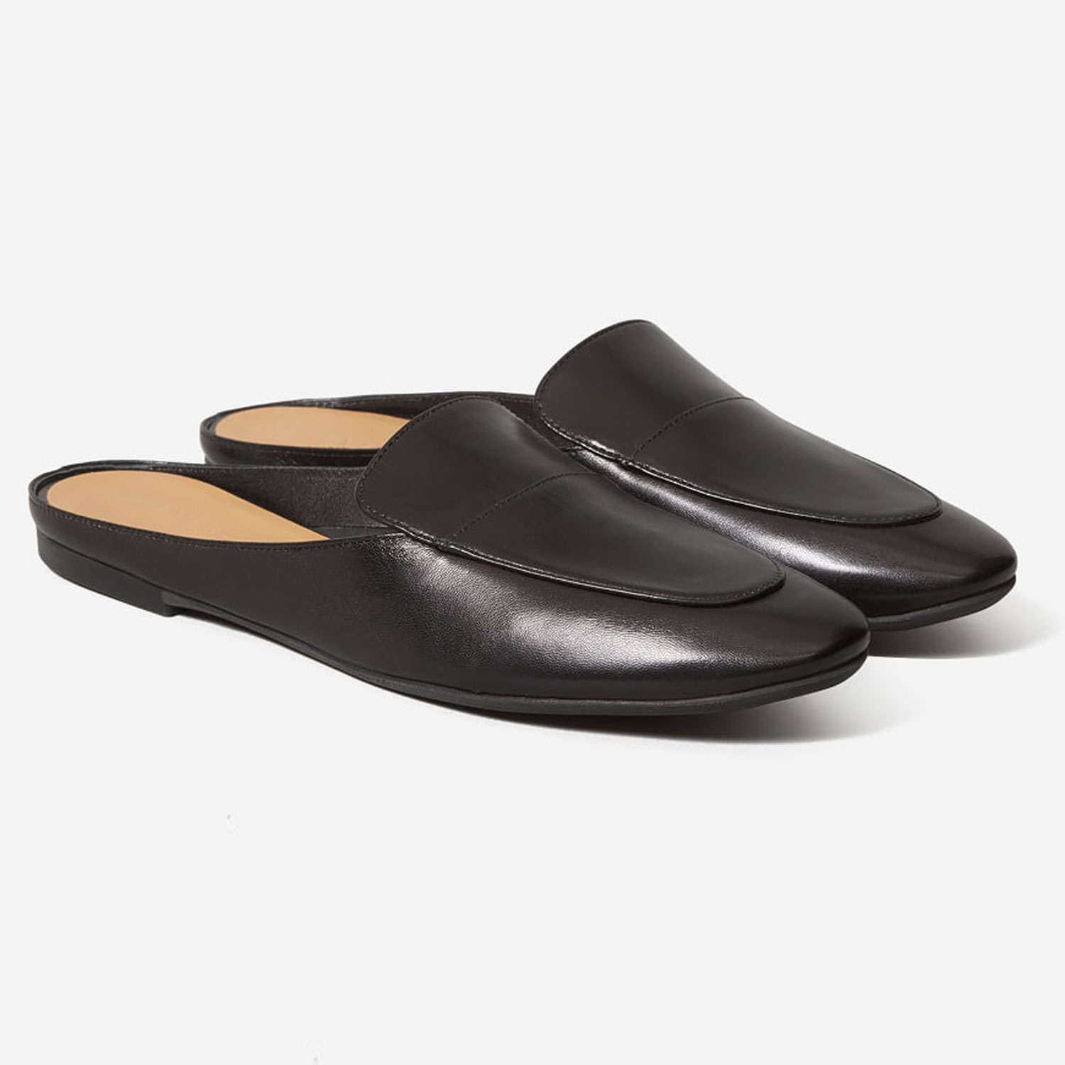 Everlane The Day Loafer Mule in Black