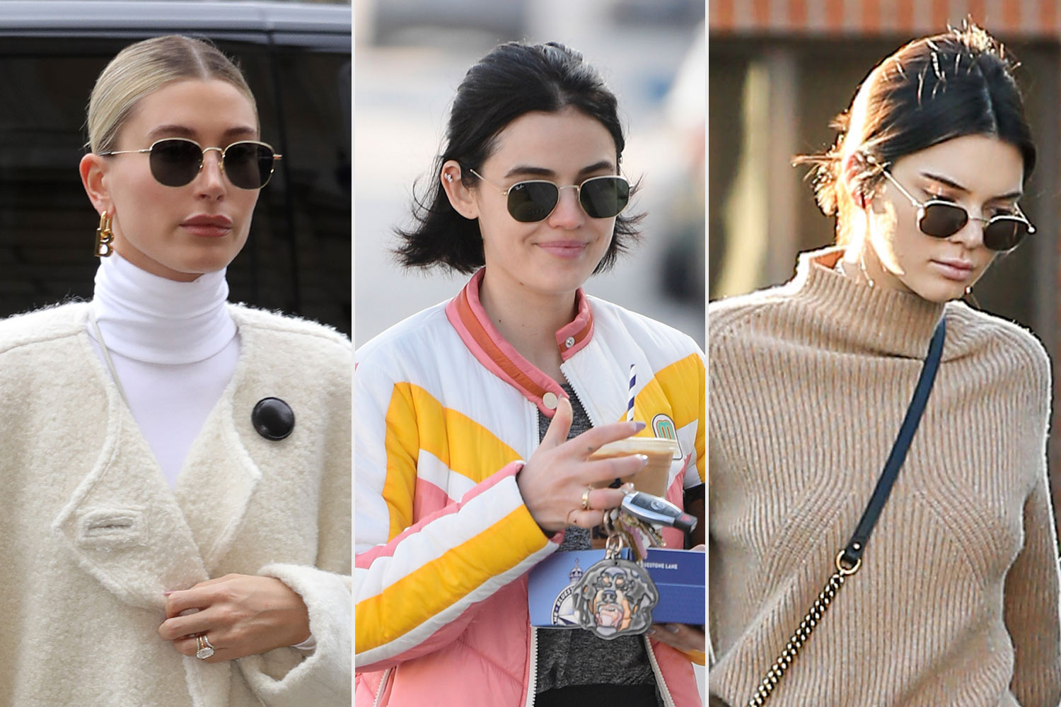 Hailey Baldwin, Lucy Hale, Kendall jenner