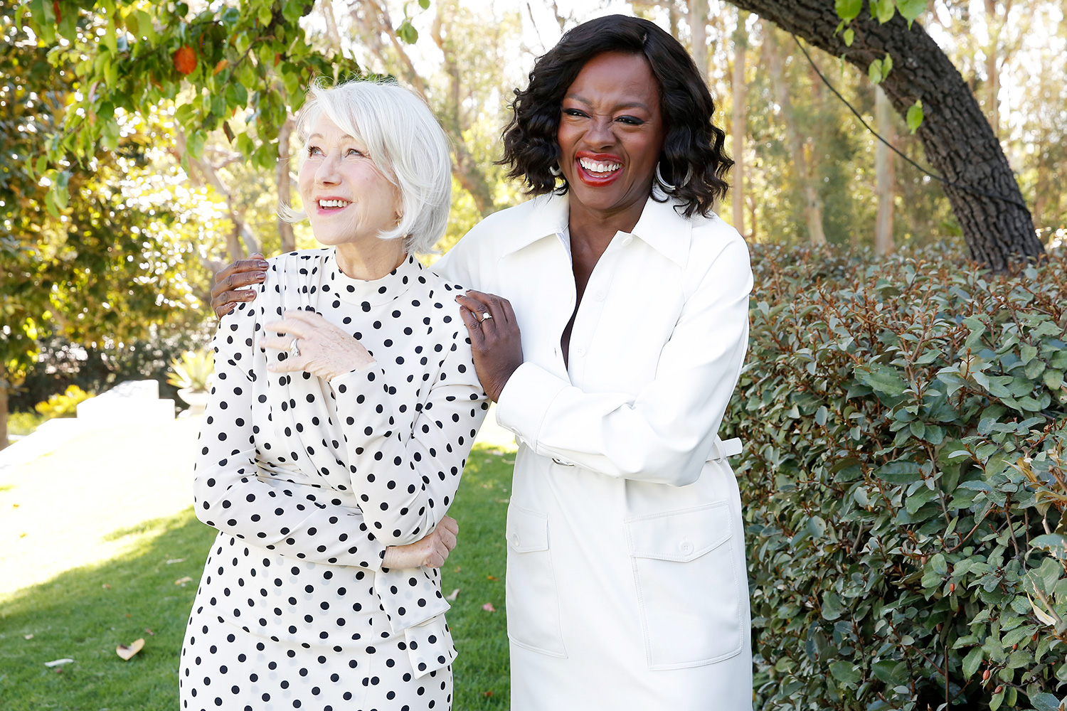 Helen Mirren and Viola Davis join LOréal Paris to celebrate the launch of Age Perfect Cosmetics on March 03, 2020 in Beverly Hills, California