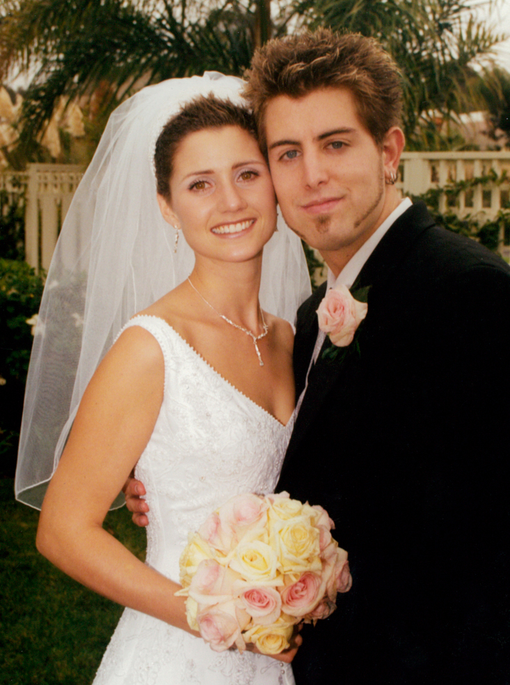 Jeremy camp with first wife, Melissa