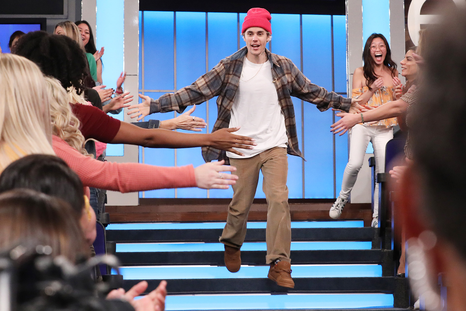 """International superstar JustinBieber makes a cameo appearance on """"The Ellen DeGeneres Show"""" airing Tuesday, March 3rd, to answer some of """"Ellen's BurningQuestions."""""""