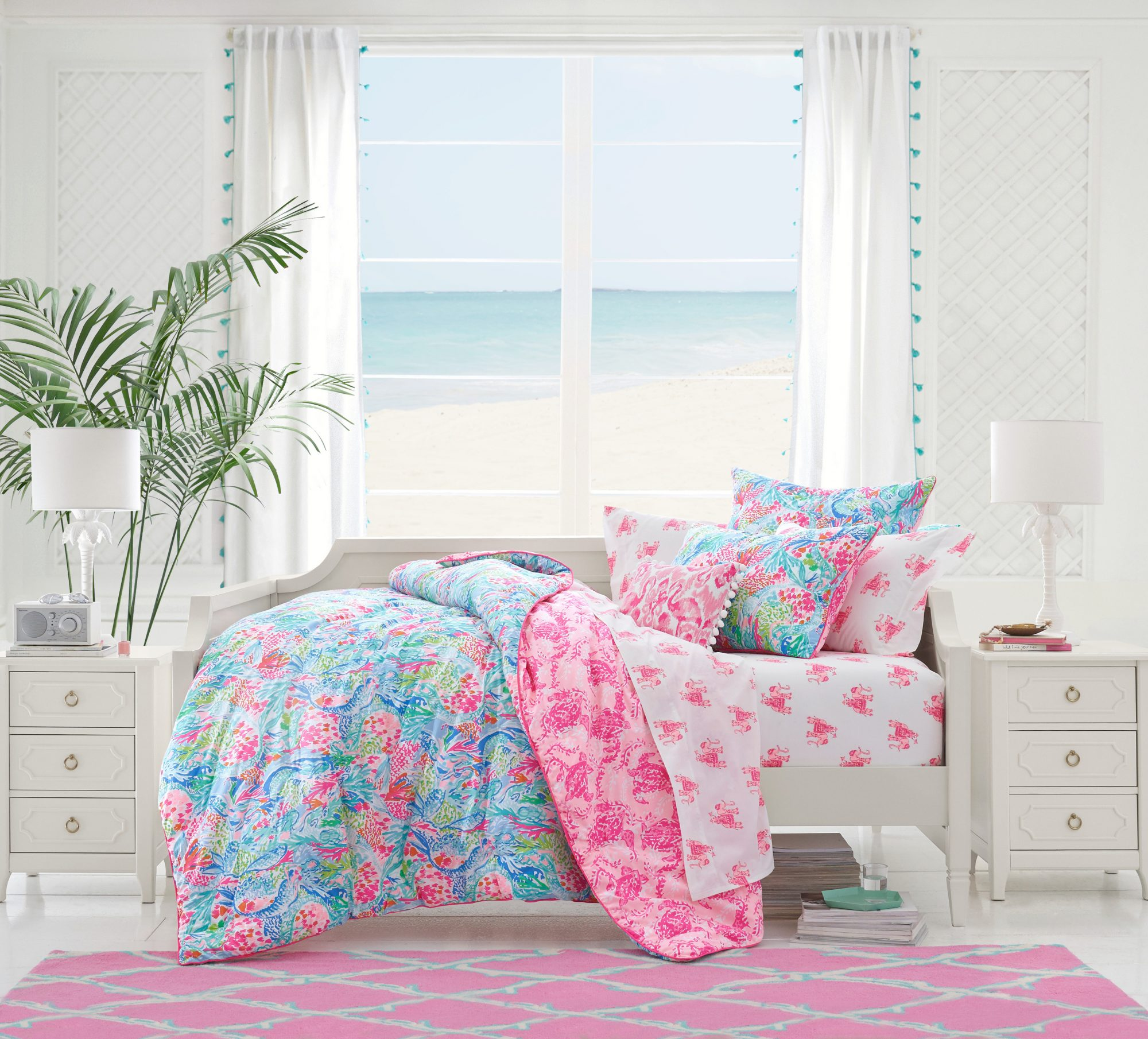 Pottery Barn Kids new Lilly Pulitzer collaboration