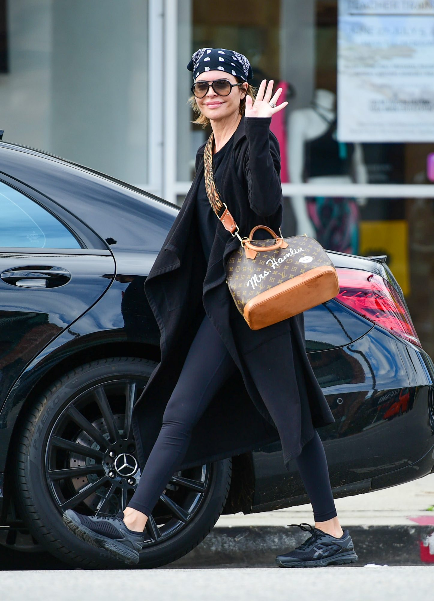 Celebrity Sightings In Los Angeles - March 12, 2020