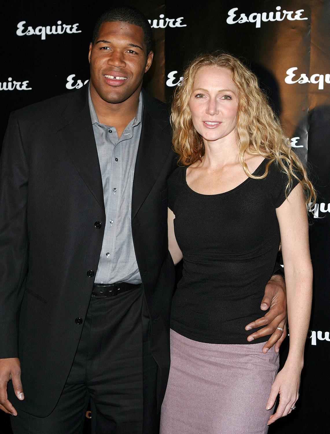 Michael Strahan and ex-wife Jean