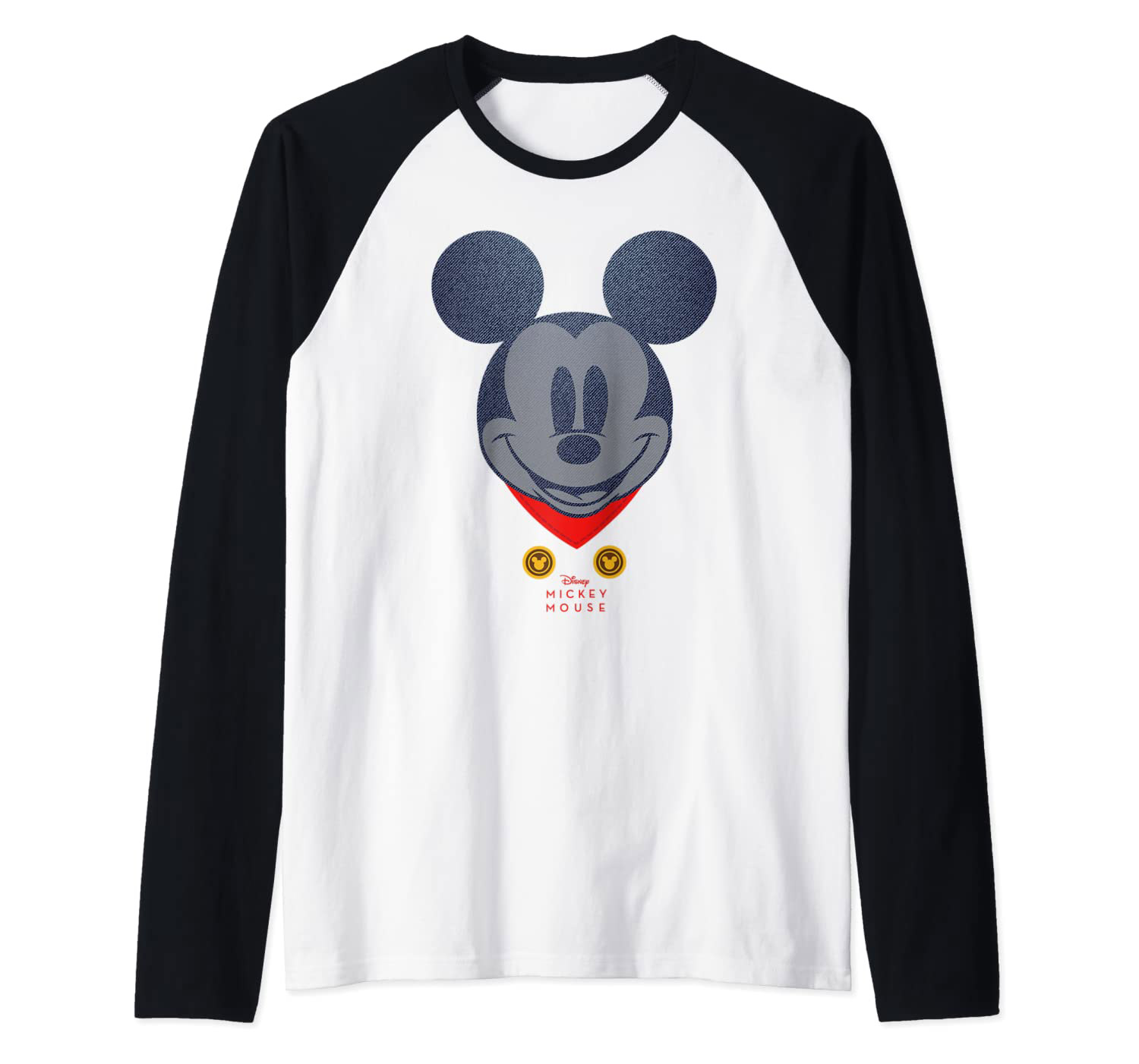 Disney Year of the Mouse March Mickey Mouse Baseball Tee