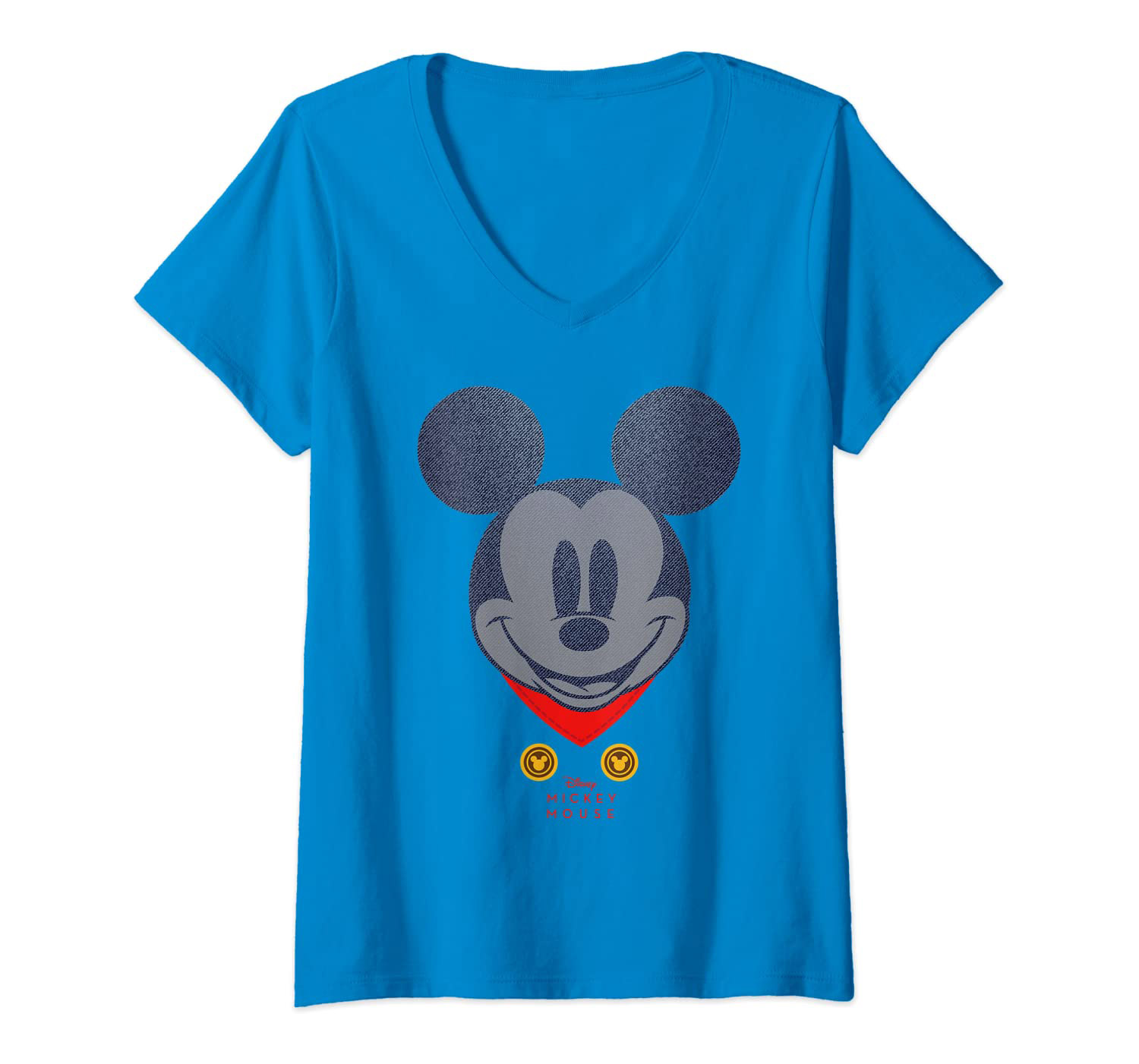 Disney Year of the Mouse March Mickey Mouse V-Neck