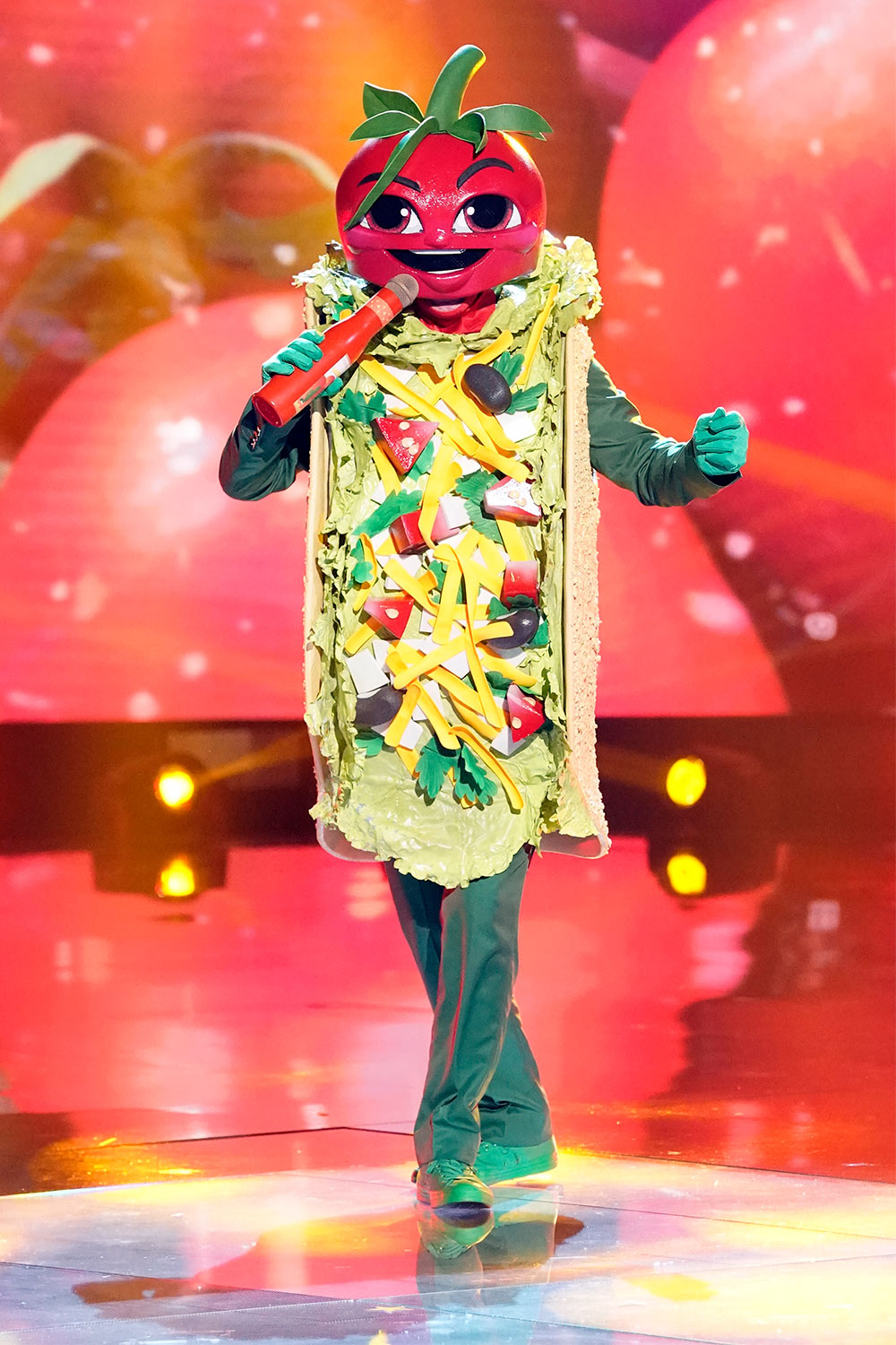 THE MASKED SINGER: The Taco