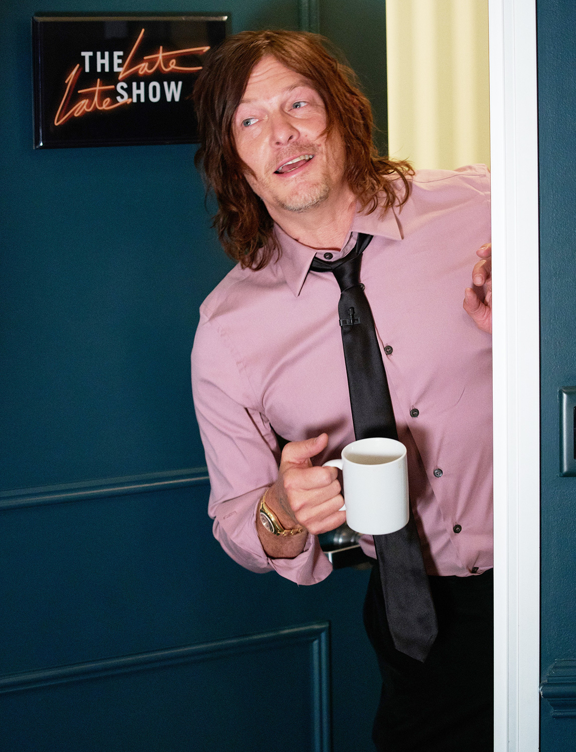 The Late Late Show with James Corden airing Wednesday, March 4, 2020, with guests Liv Tyler, Norman Reedus