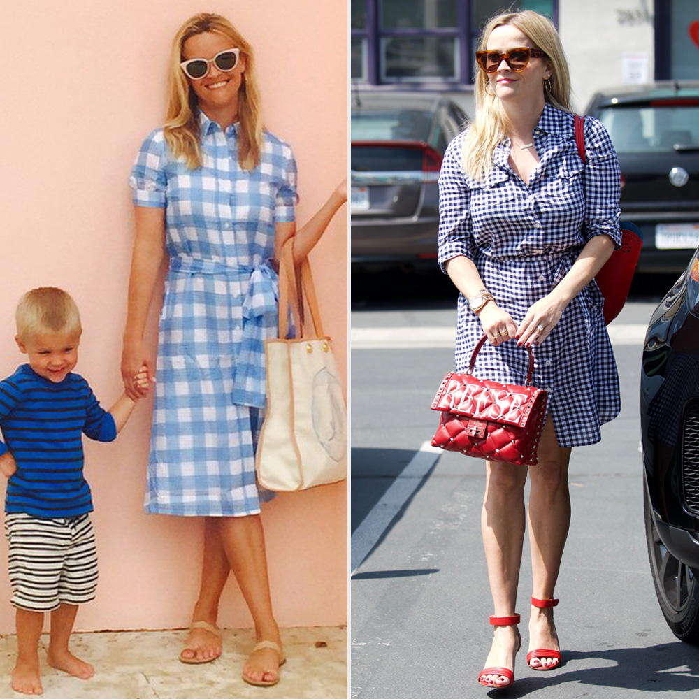 Reese Witherspoon always wears gingham