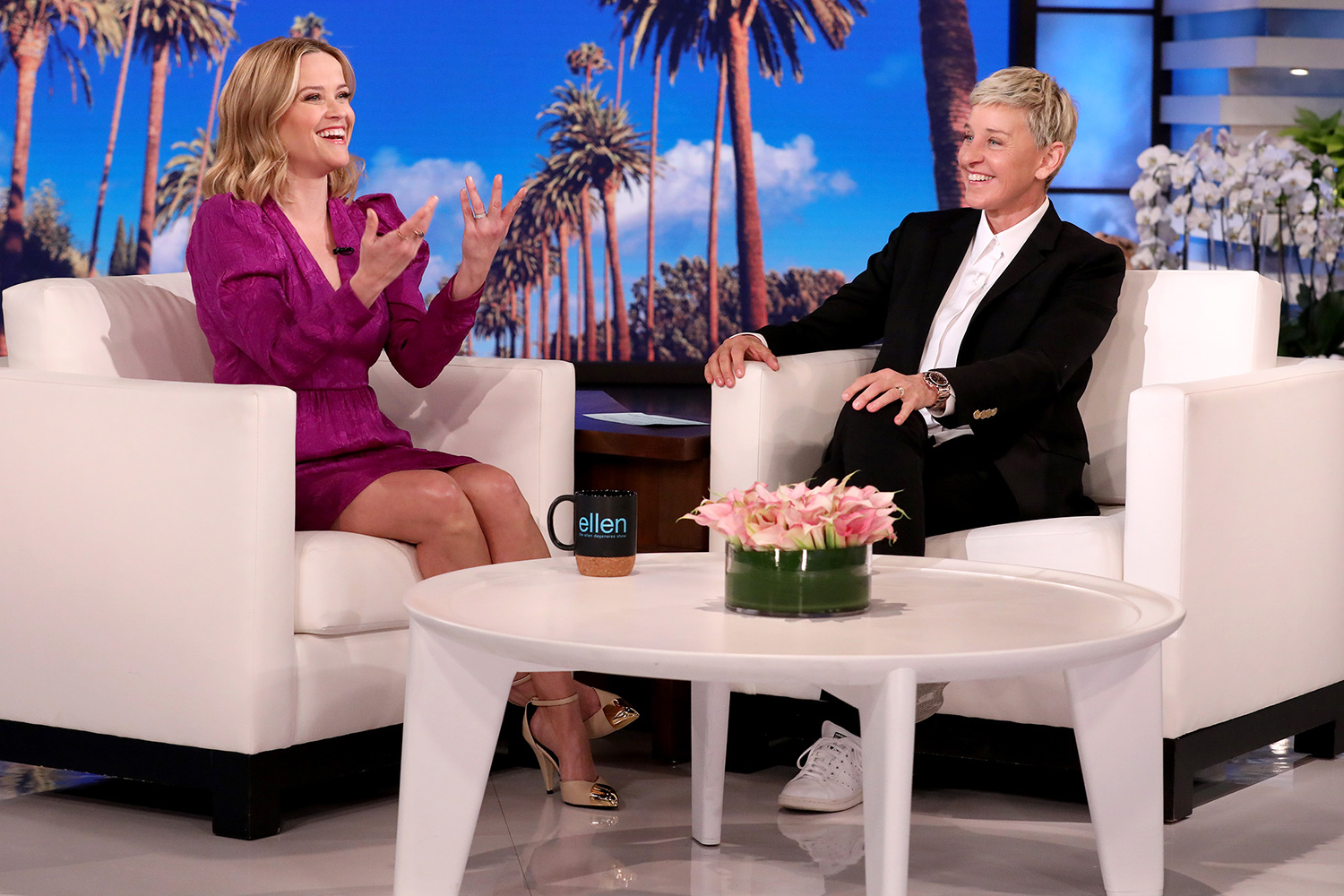 """Academy Award-winning actress Reese Witherspoon makes an appearance on """"The Ellen DeGeneres Show"""" on Monday, March 16th."""