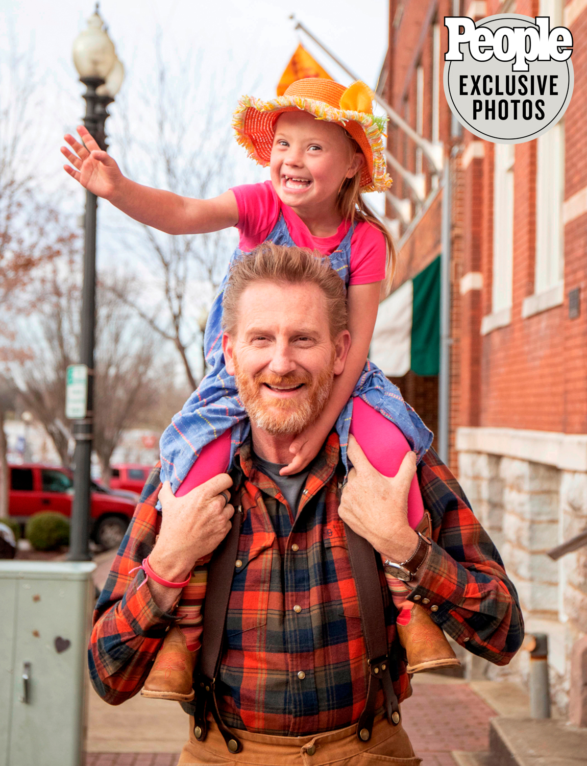 Rory Feek and his daughter, Indiana