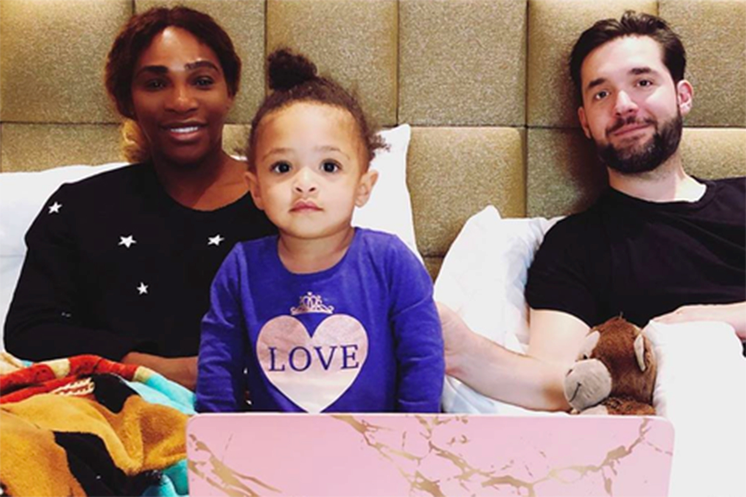Serena Williams Alexis Ohanian Olympia