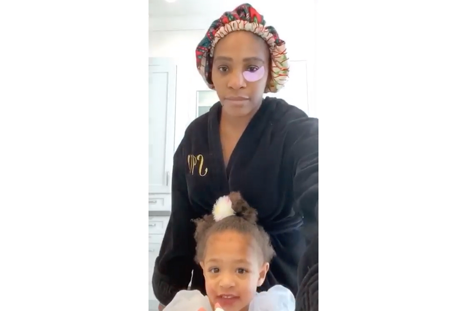 Serena Williams and Olympia