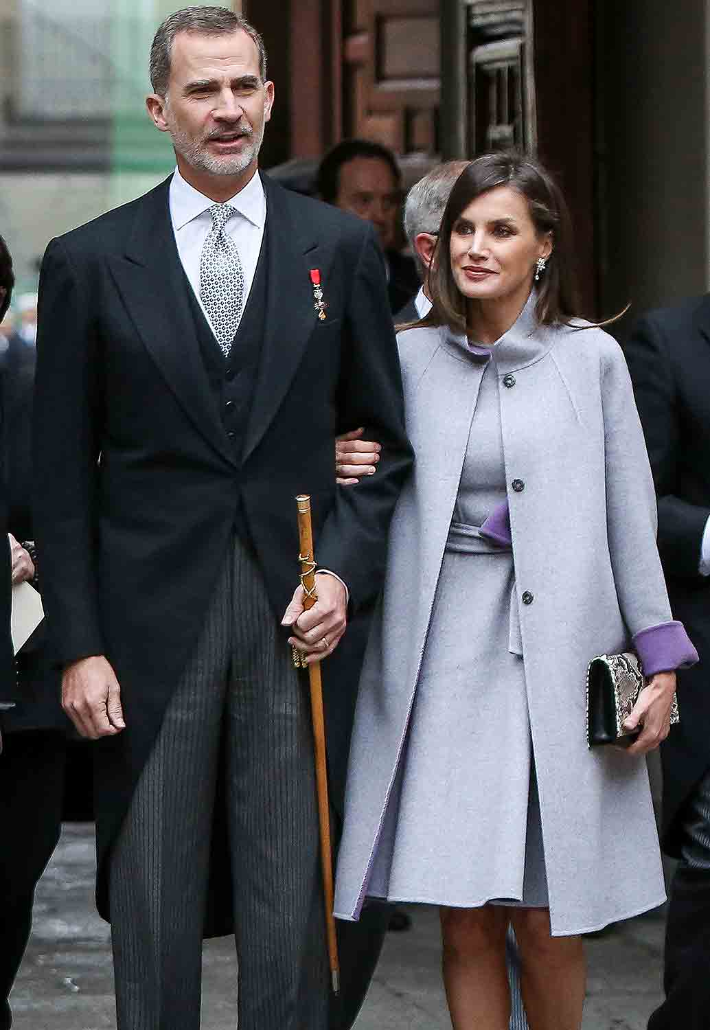 King Felipe VI of Spain and Queen Letizia of Spain