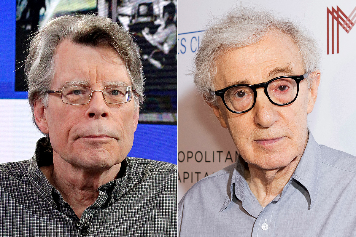 Stephen King attacks dropping of Woody Allen's book