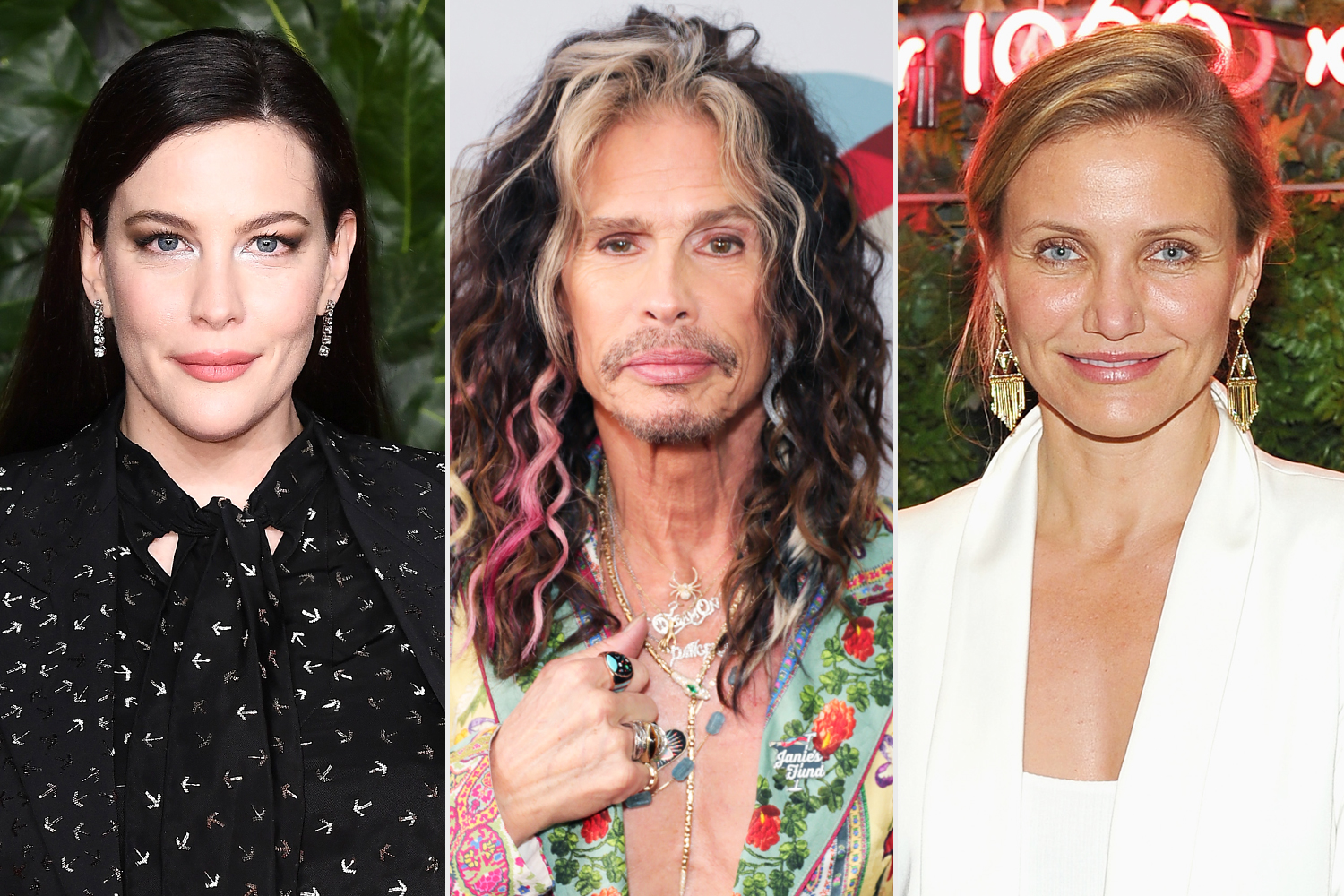 Liv Tyler Reacts to Dad Steven Tyler Admitting He Hit on Her Friend Cameron Diaz