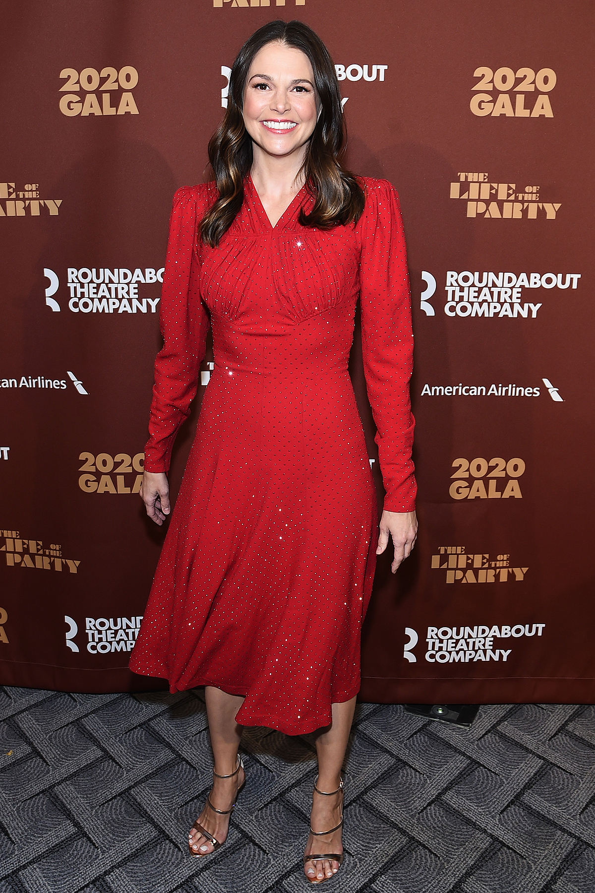 Sutton Foster attends the Roundabout Theater's 2020 Gala at The Ziegfeld Ballroom on March 02, 2020 in New York City.