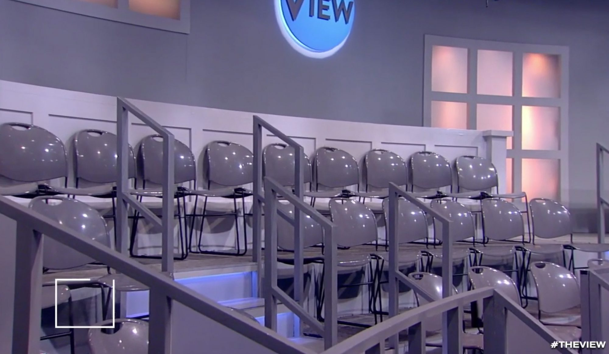 The View's empty audience