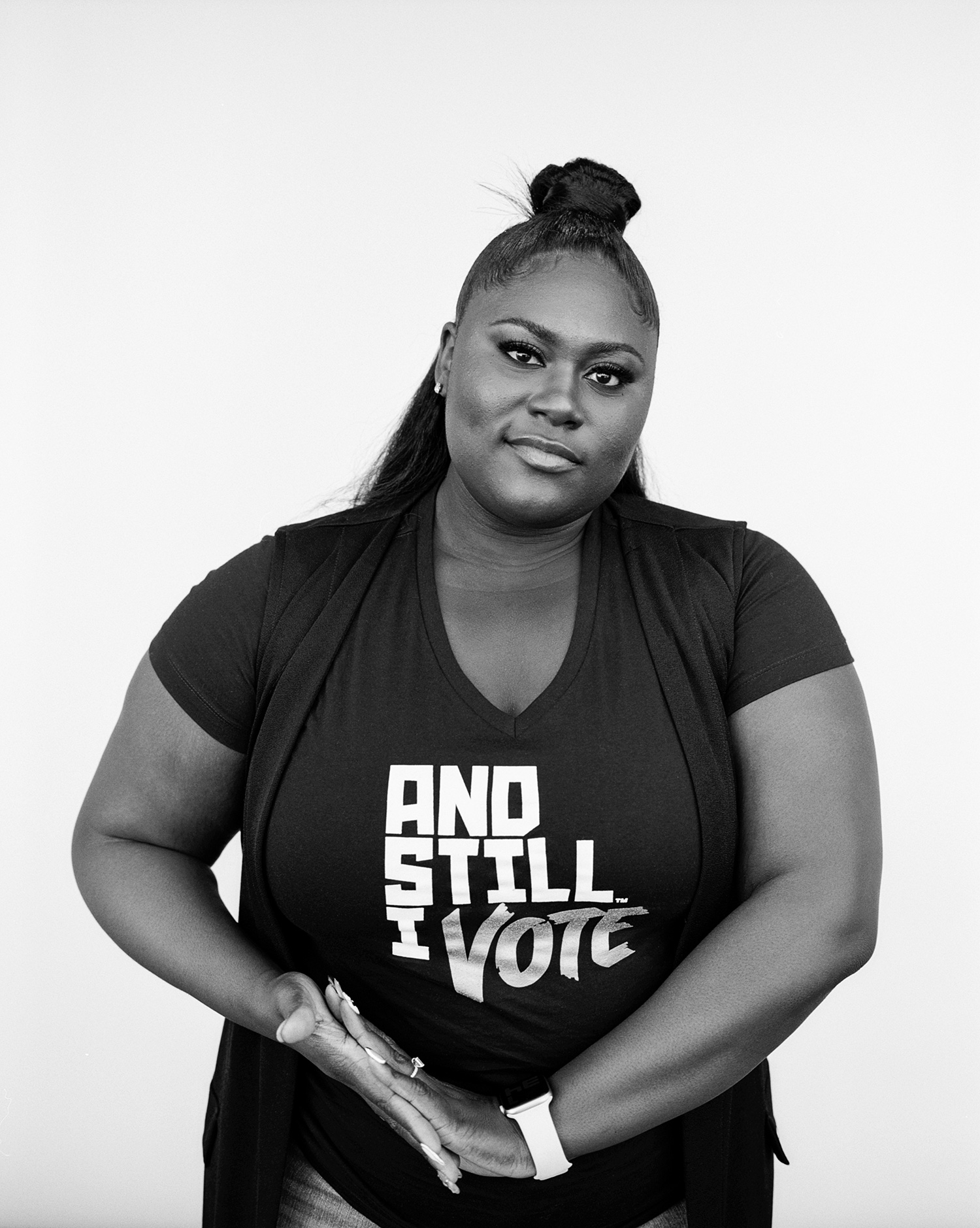 Danielle Brooks Voting Rights Portraits