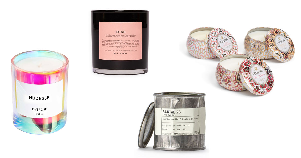 15 Candles from Nordstrom to Keep Your Home Smelling Fresh, Clean, and Delicious