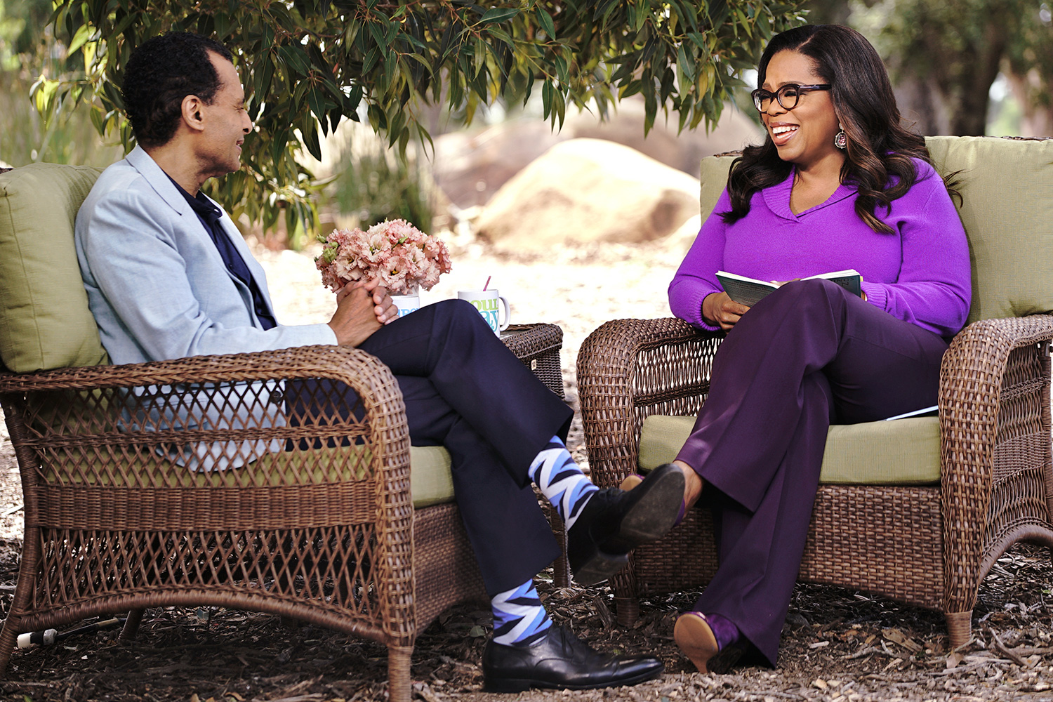 Oprah and Pastor A.R. Bernard