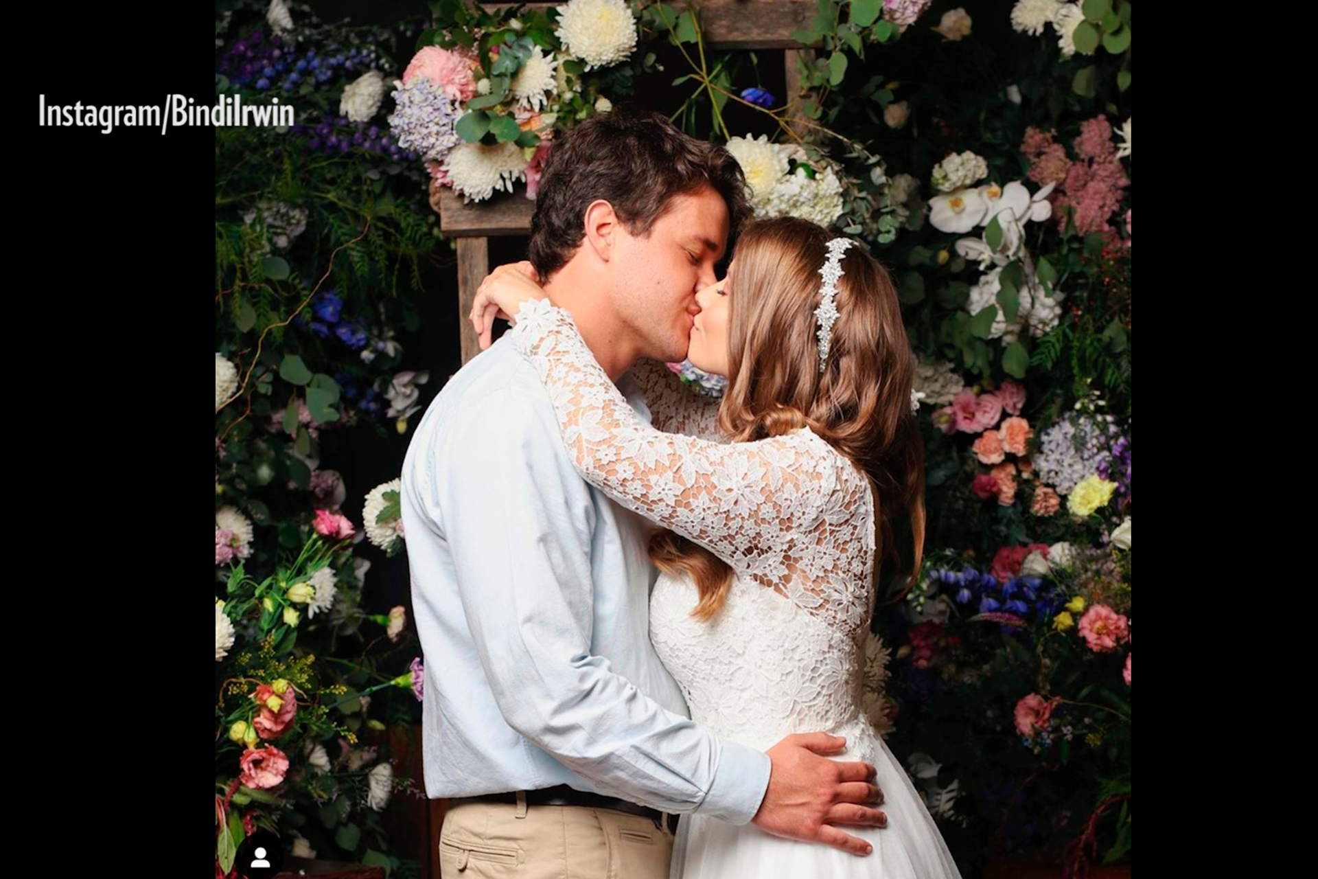 People Now: The Sweetest Photos from Bindi Irwin's Wedding and How She Honored Late Father Steve Irwin - Watch the Full Episode