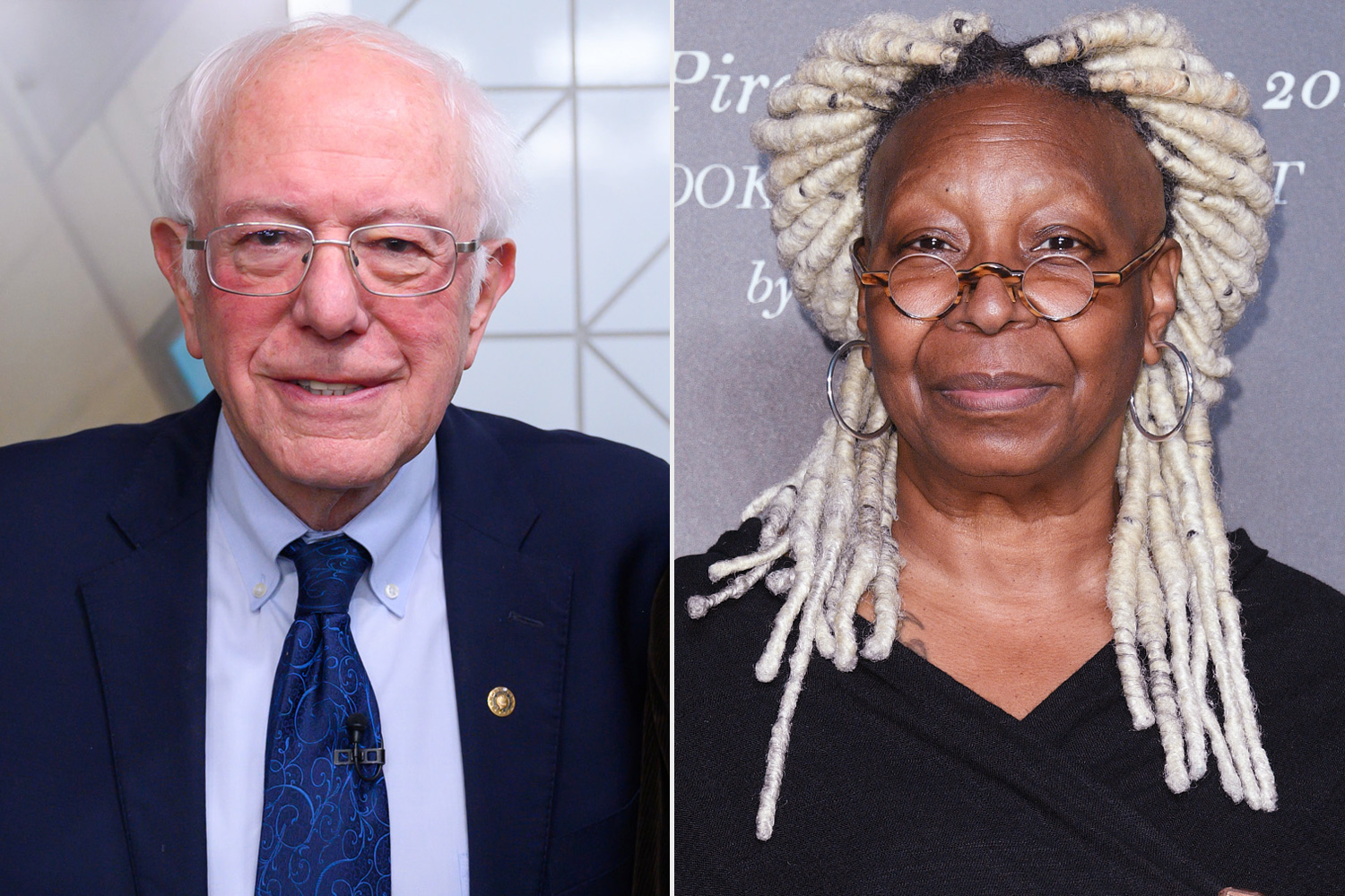 Whoopi Goldberg Pushes Bernie Sanders on His 2020 Plans