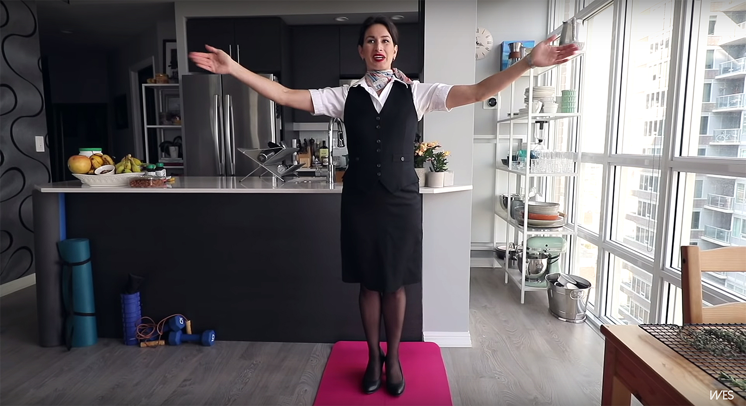 When Flight Attendants Work From Home