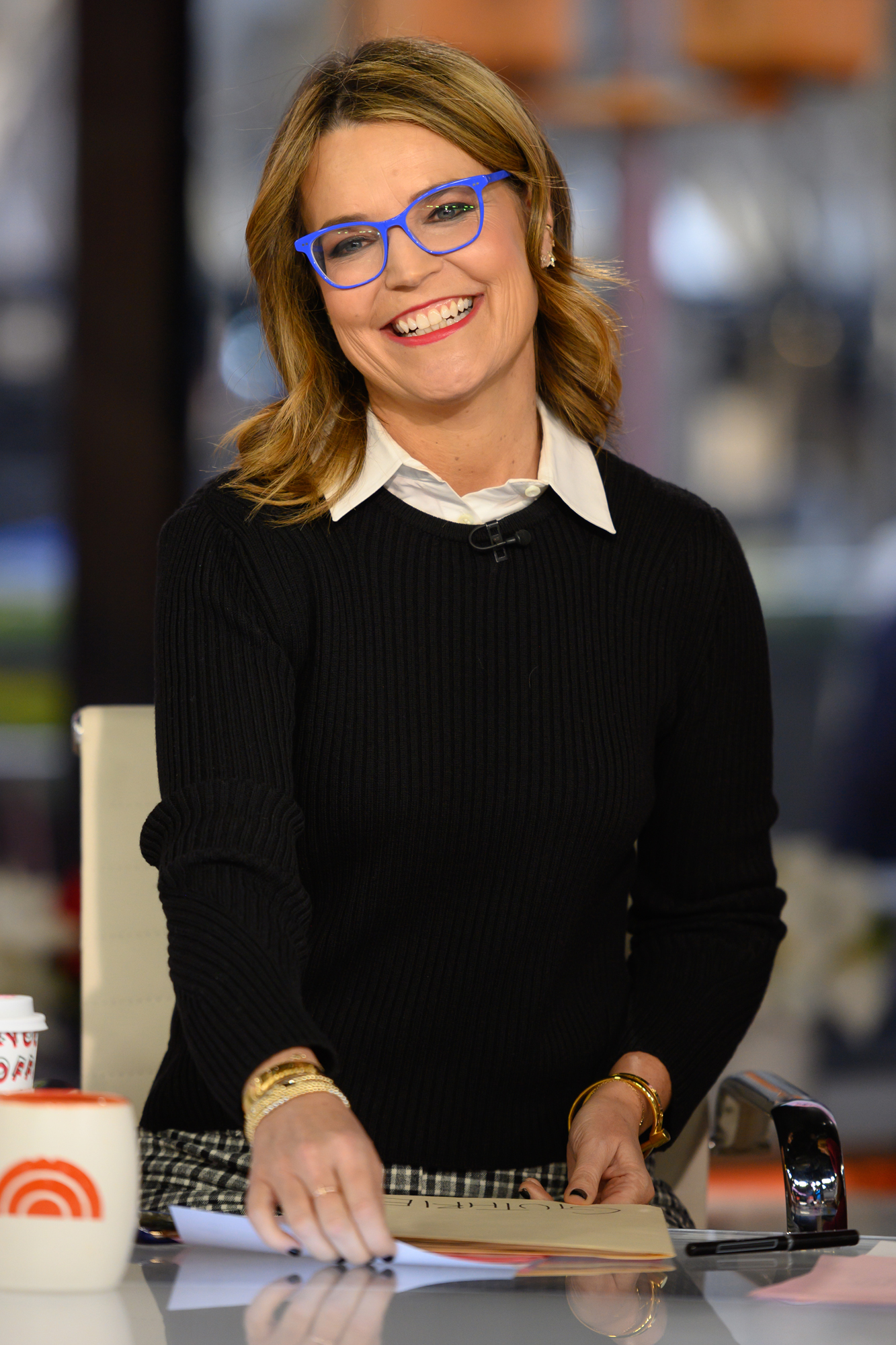 Today S Savannah Guthrie Is Back To Working From Home People Com