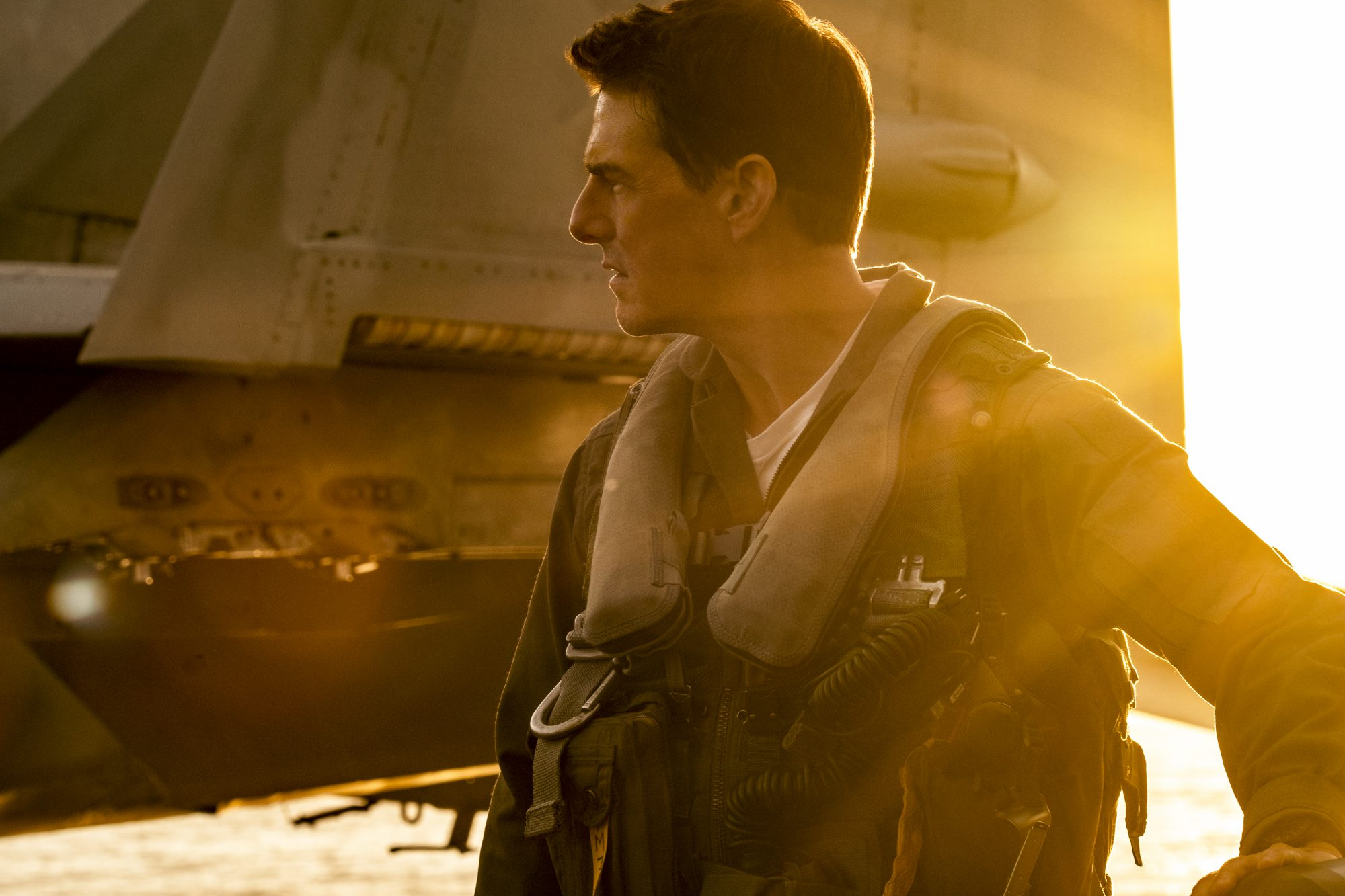 "Tom Cruise plays Capt. Pete ""Maverick"" Mitchell in Top Gun: Maverick"