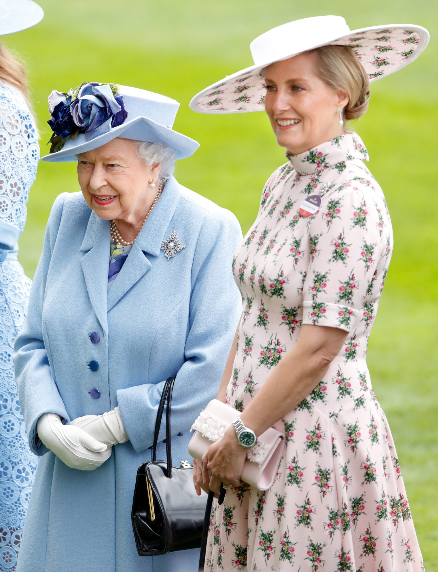 Queen Elizabeth II and Sophie, Countess of Wessex