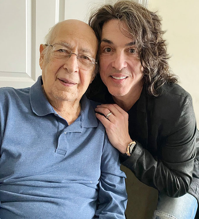 Paul Stanley's father turns 100 years old