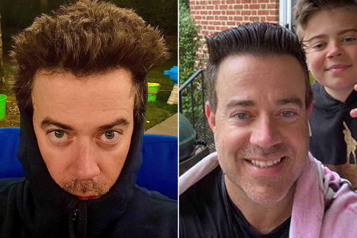 Carson Daly Cuts His Own Hair From Home On Live Television During