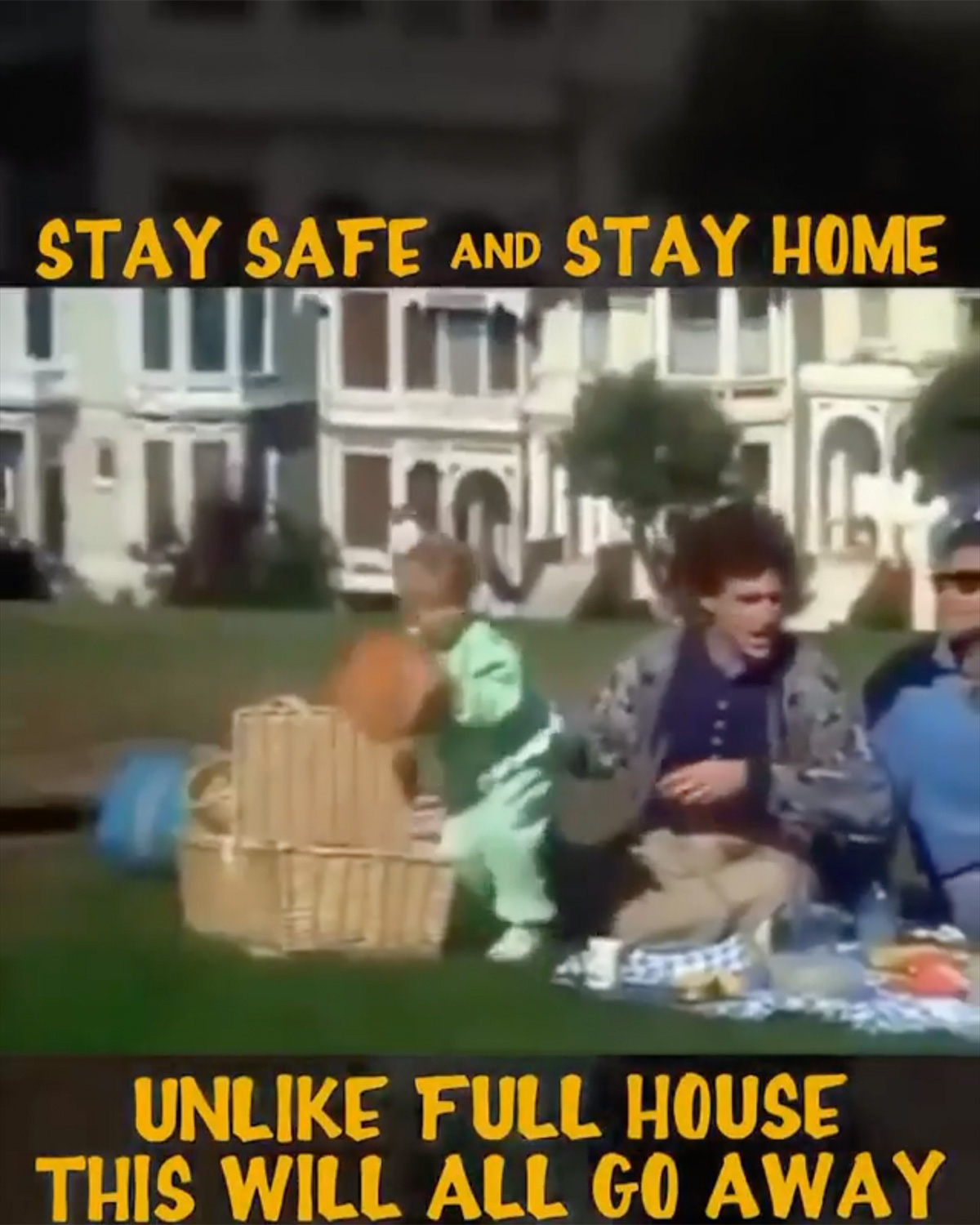Full House cast reshoots iconic opening to encourage fans to stay home amid coronavirus