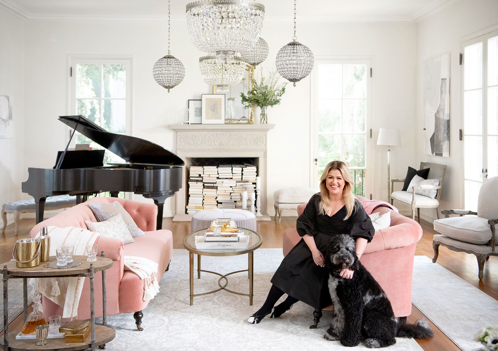 Kelly Clarkson for Wayfair