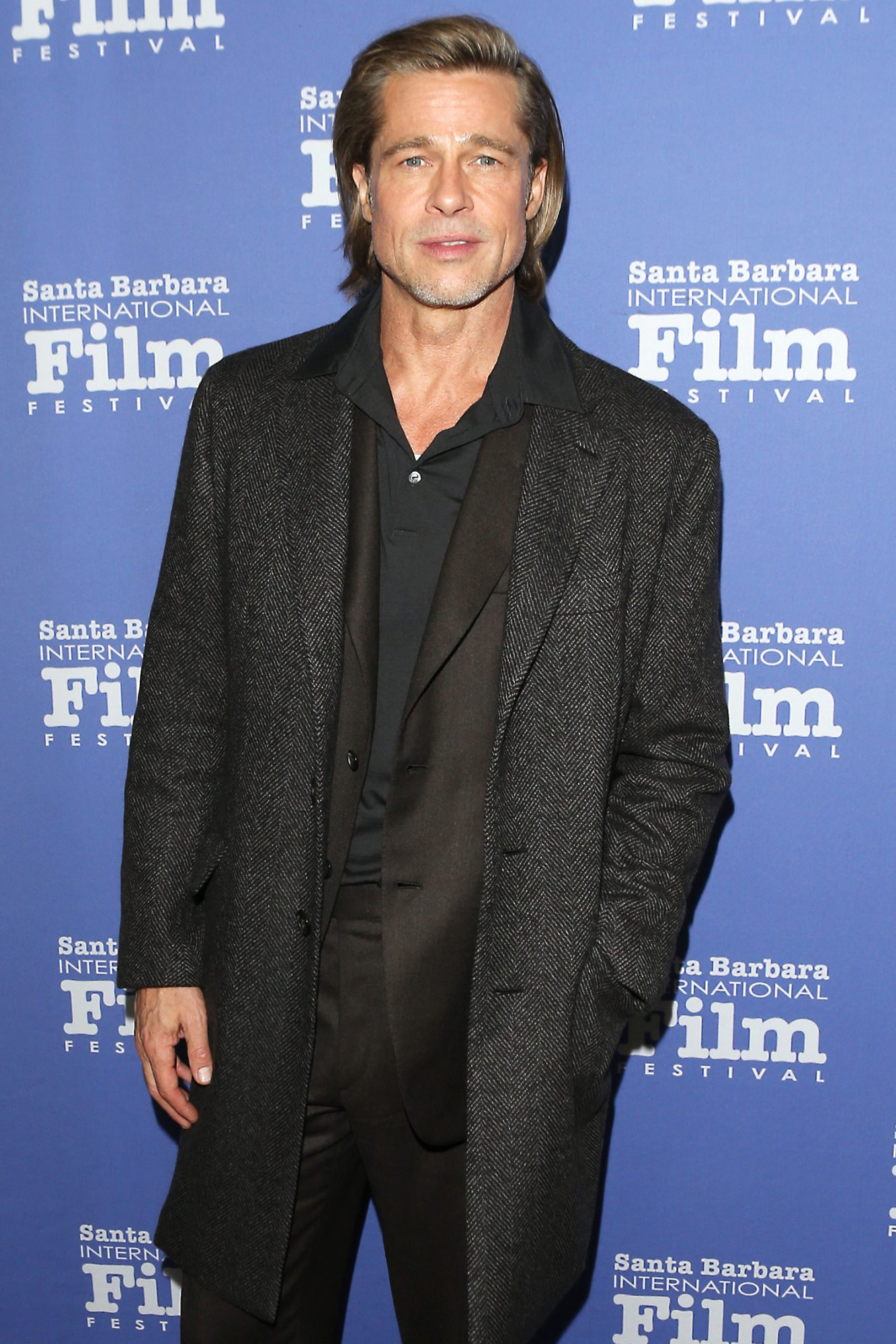 Brad Pitt attends the 35th Annual Santa Barbara International Film Festival