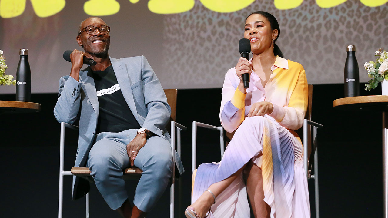 Don Cheadle and Regina Hall Talk About Black Monday