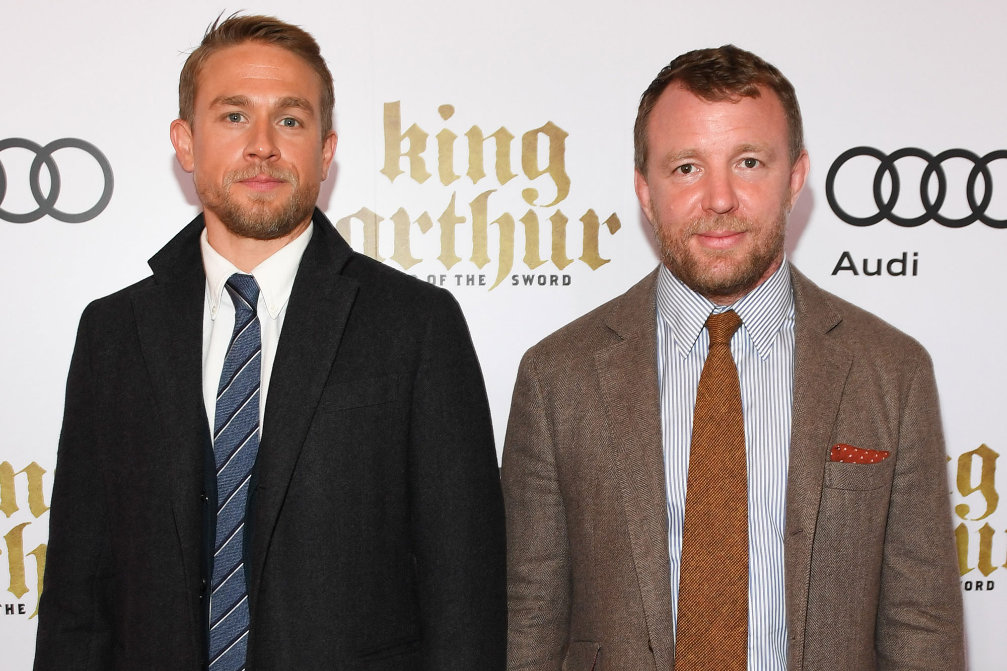 Charlie Hunnam and Guy Ritchie