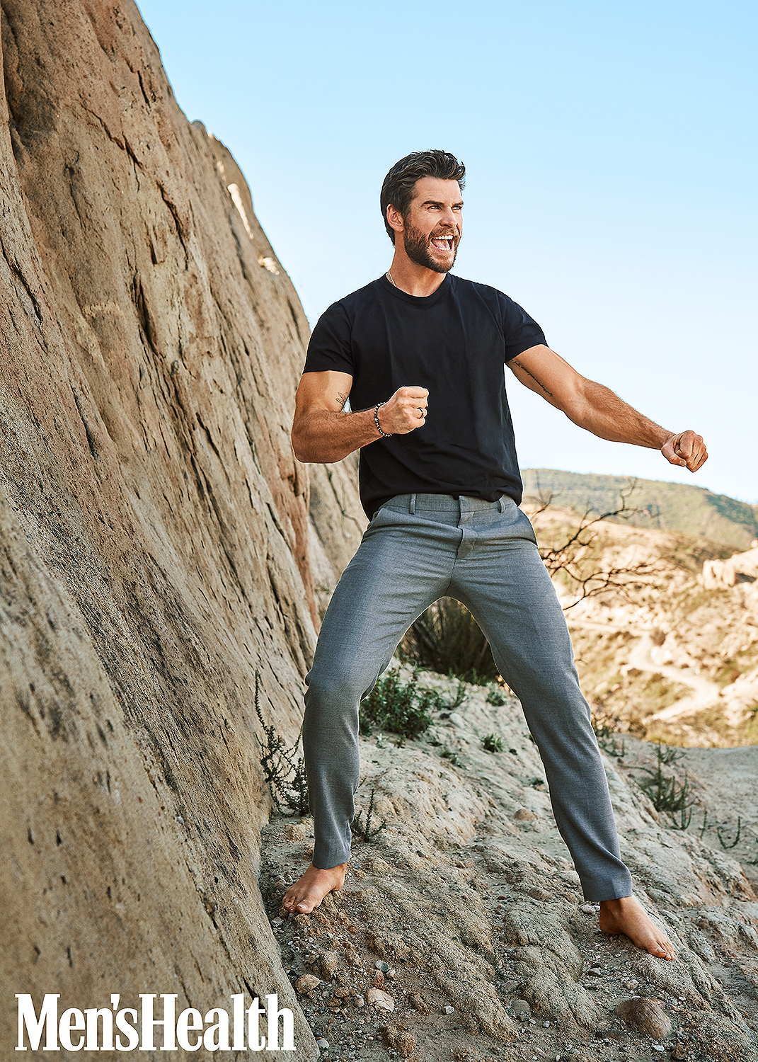 Liam Hemsworth Men's Health